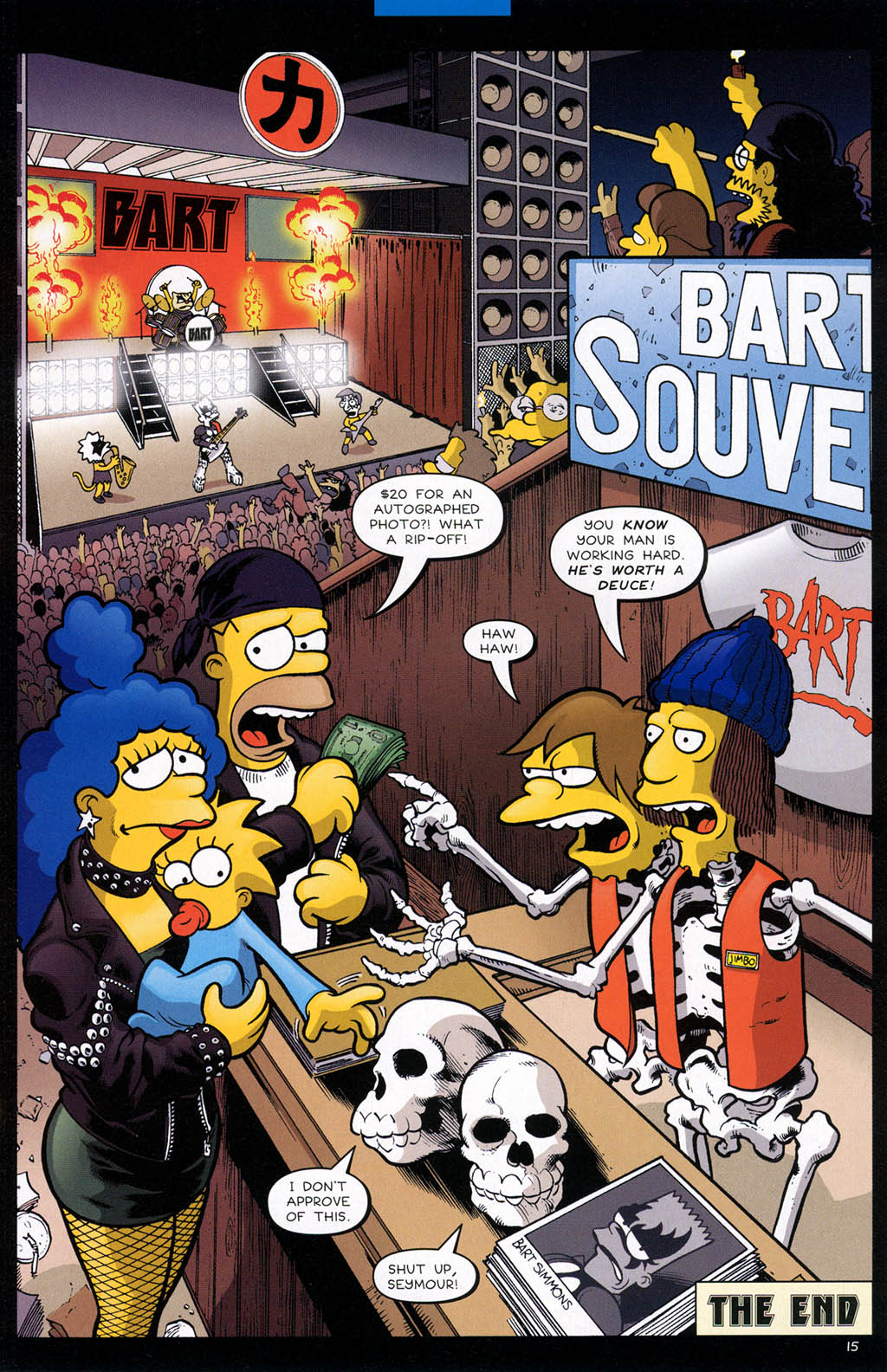 Read online Treehouse of Horror comic -  Issue #10 - 18