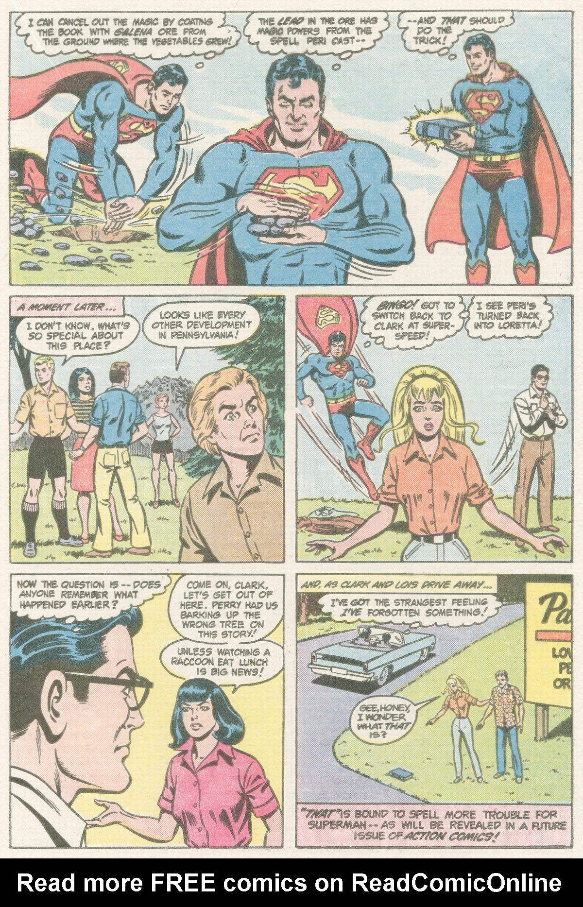 Read online Action Comics (1938) comic -  Issue #567 - 17