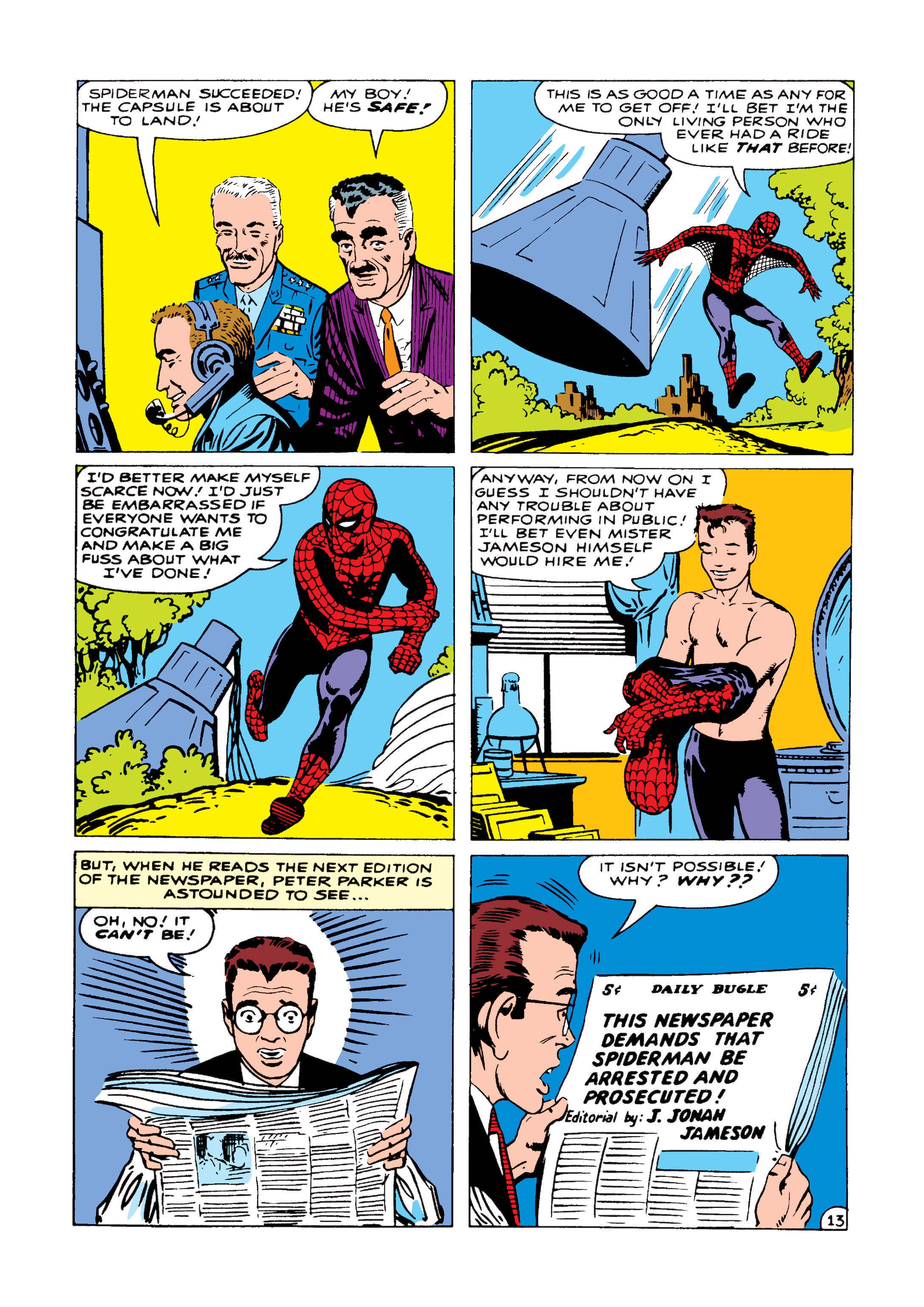 The Amazing Spider-Man (1963) 1 Page 13