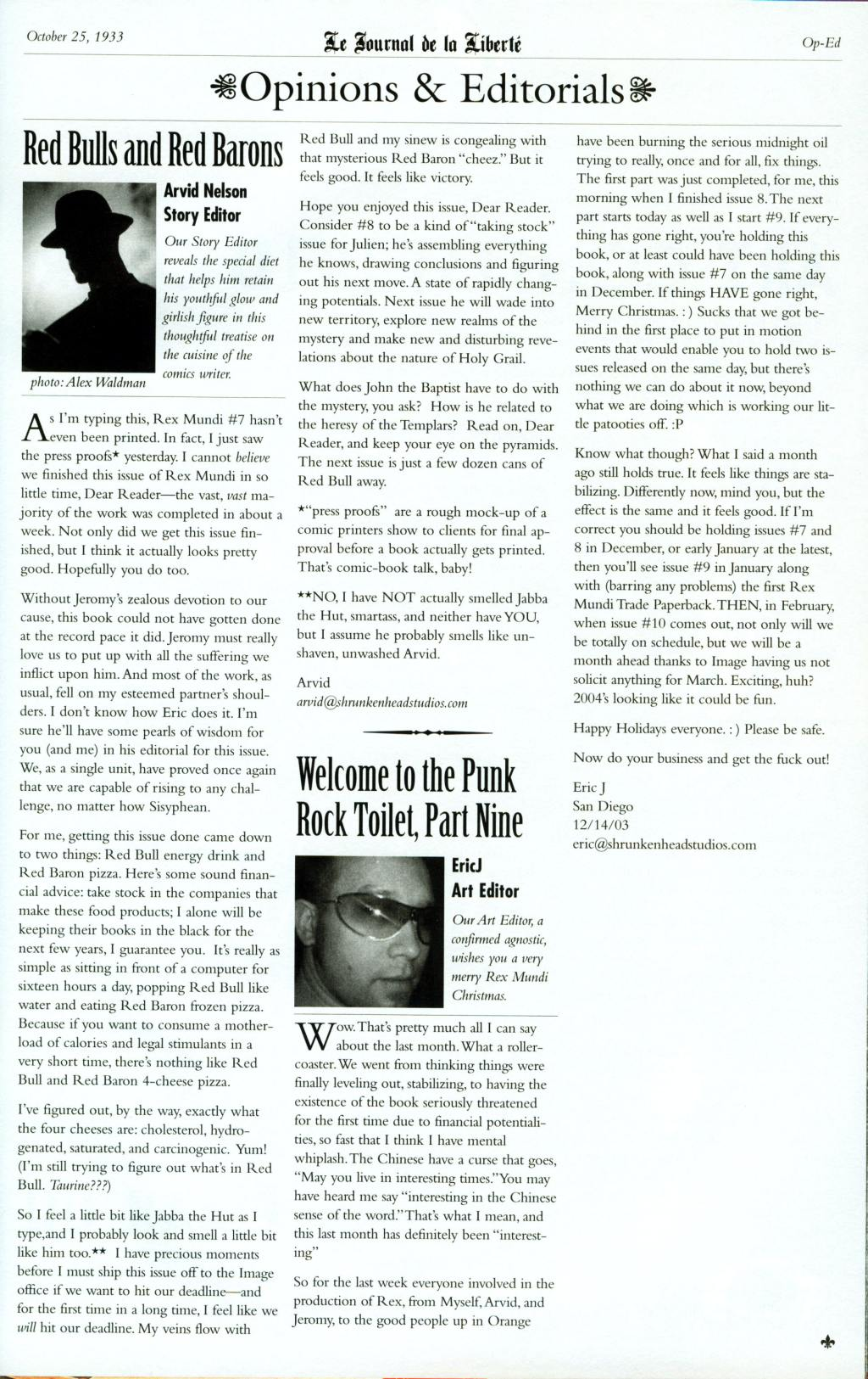 Read online Rex Mundi comic -  Issue #8 - 29