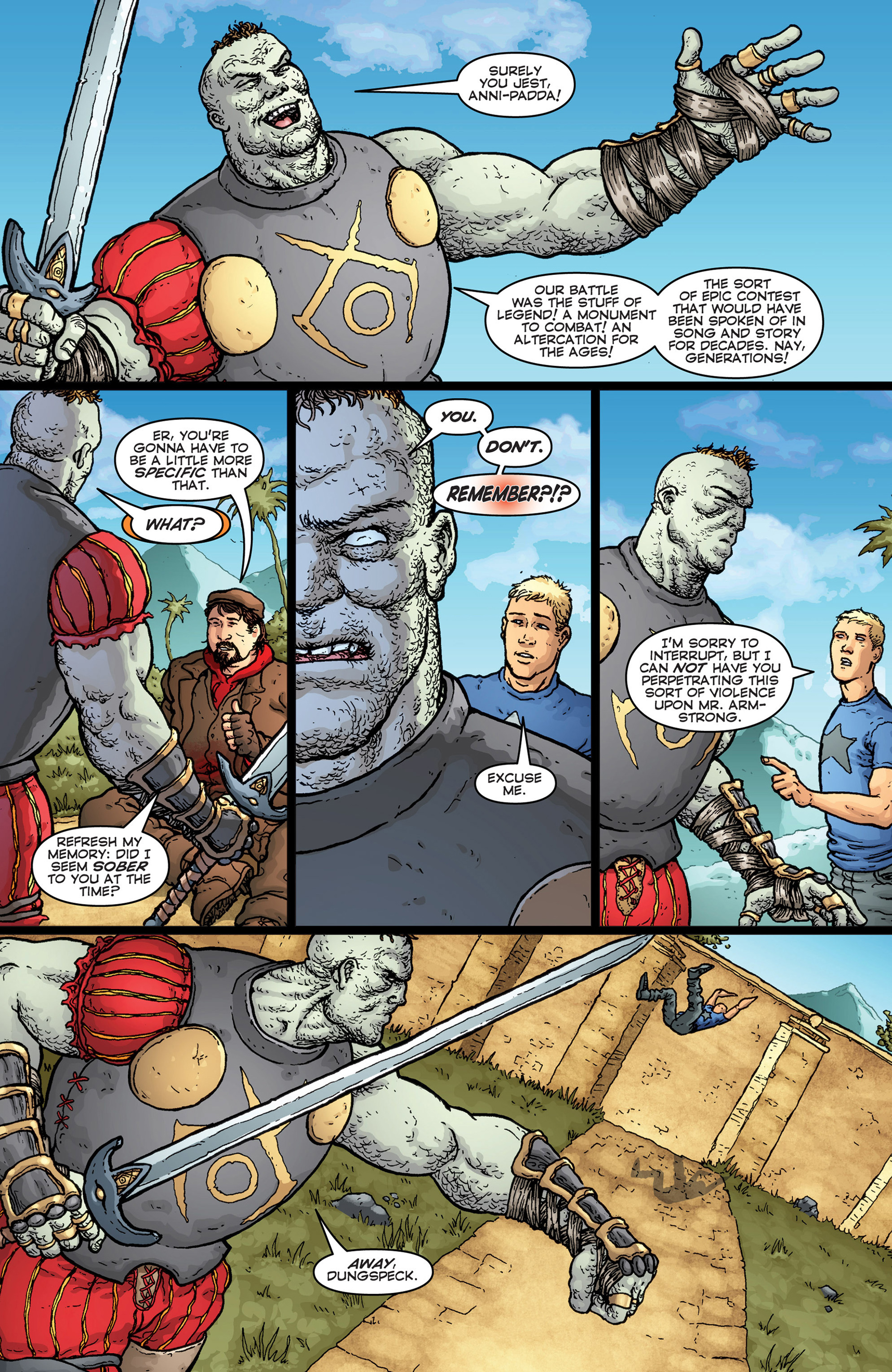 Read online Archer and Armstrong comic -  Issue #Archer and Armstrong _TPB 7 - 35