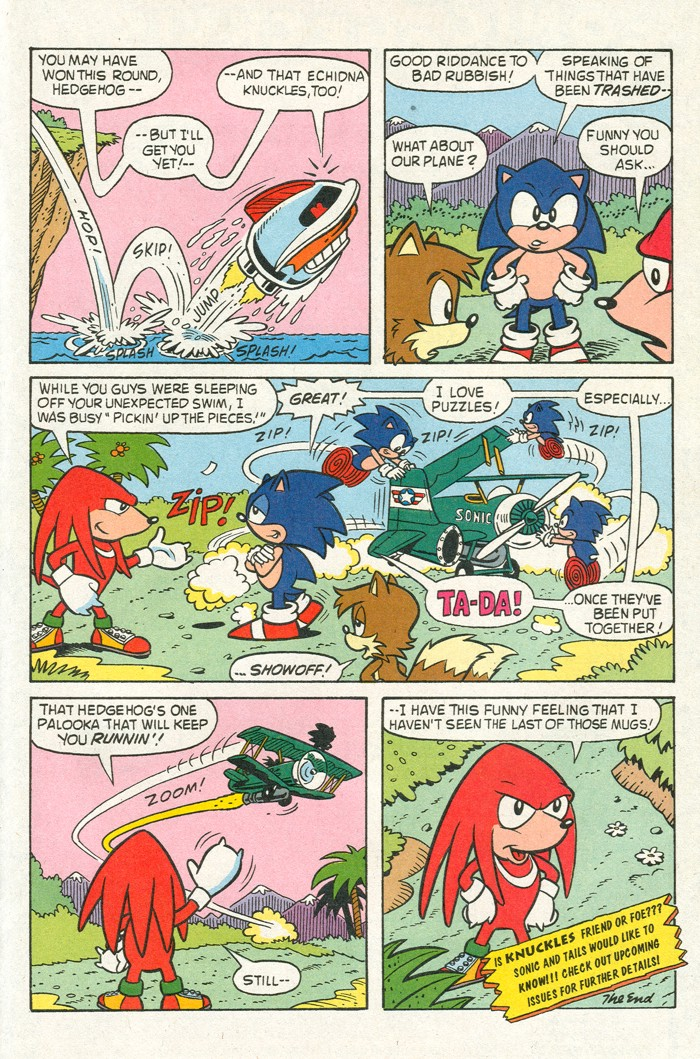 Read online Sonic Super Special comic -  Issue #3 - Sonic Firsts - 48
