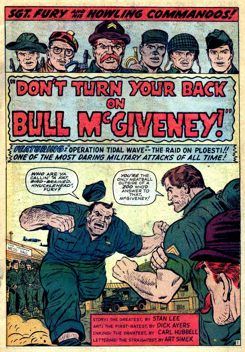 Read online Sgt. Fury comic -  Issue #22 - 3