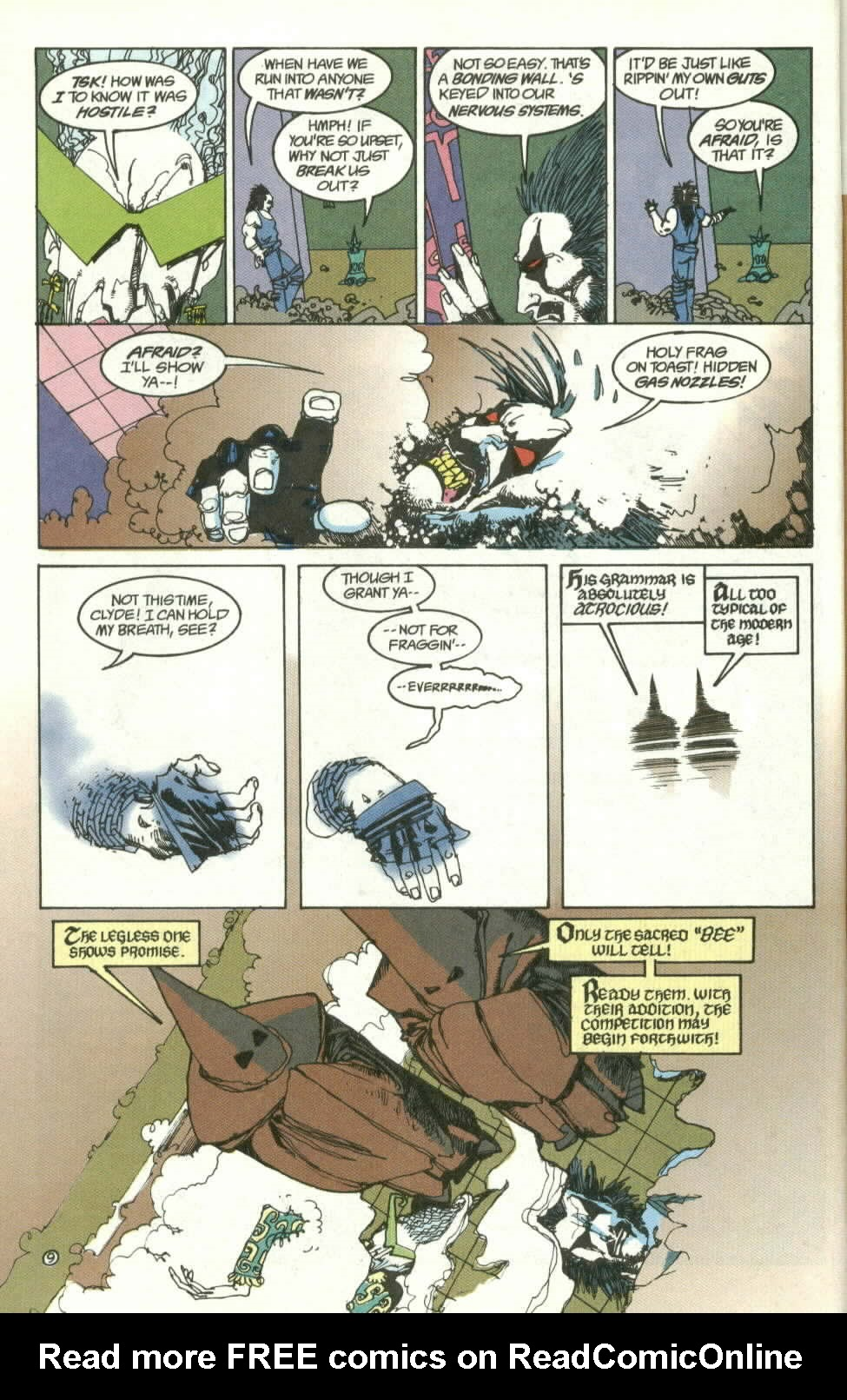 Read online Lobo (1990) comic -  Issue #3 - 10