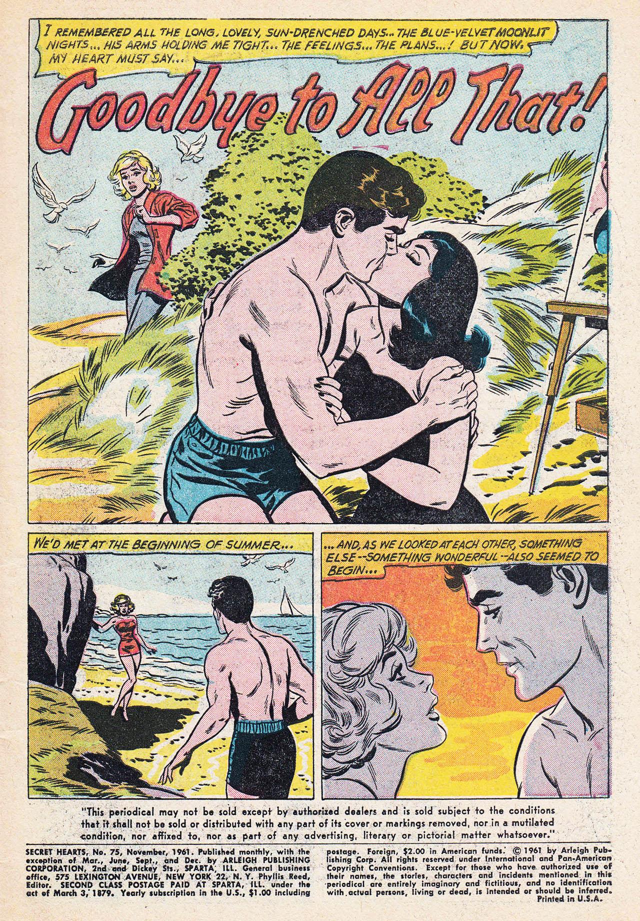 Read online Secret Hearts comic -  Issue #75 - 3