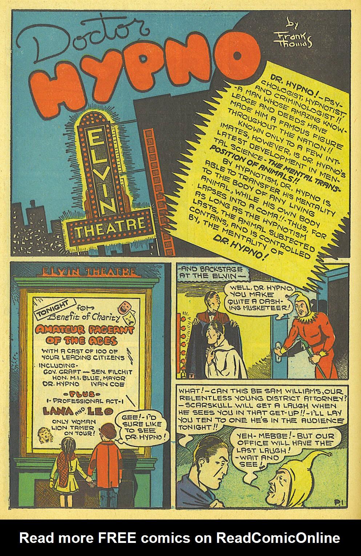 Read online Amazing Man Comics comic -  Issue #19 - 24