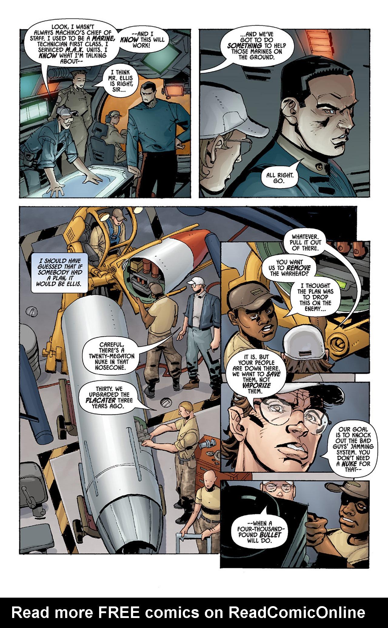Read online Aliens vs. Predator: Three World War comic -  Issue #4 - 15