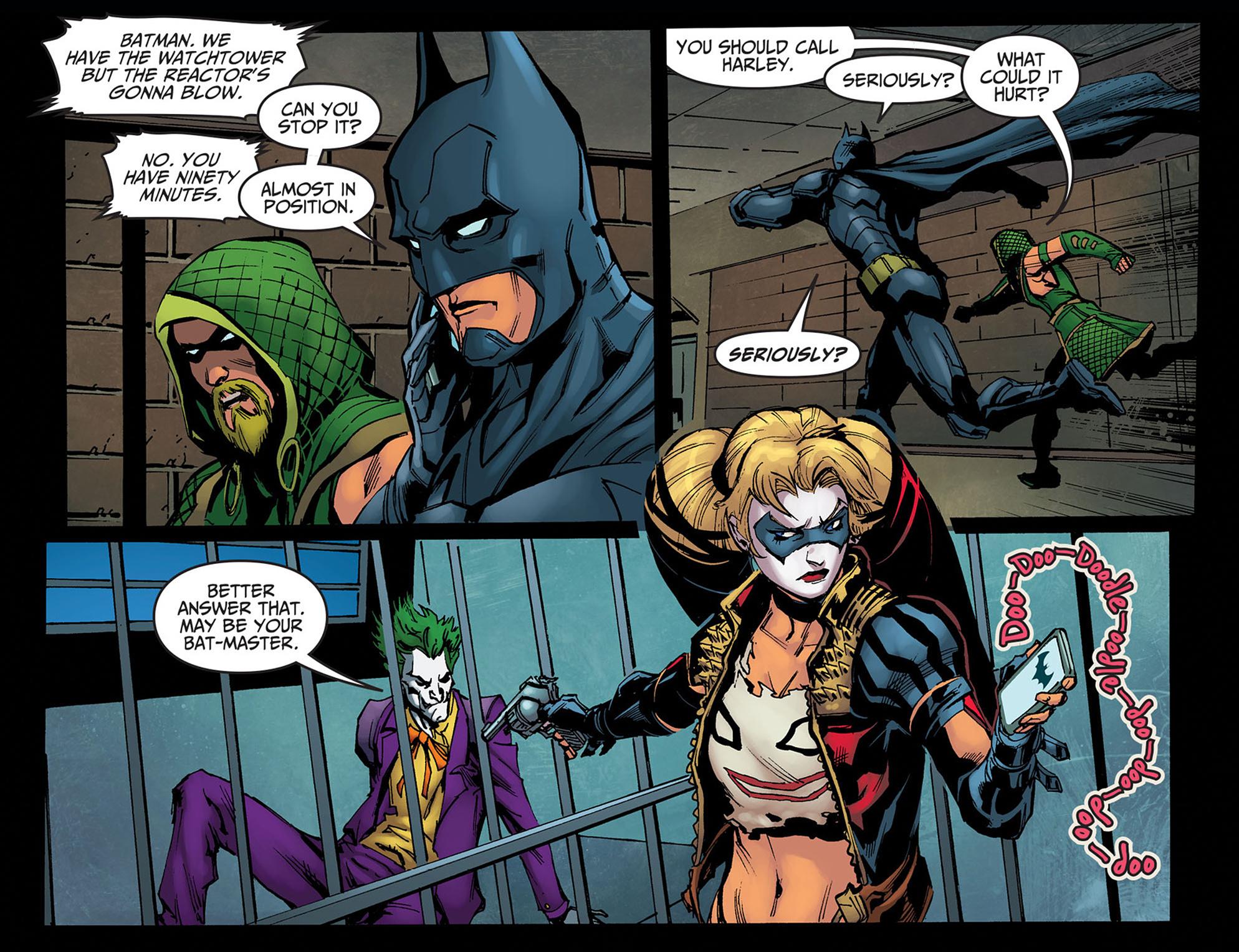 Read online Injustice: Ground Zero comic -  Issue #14 - 13
