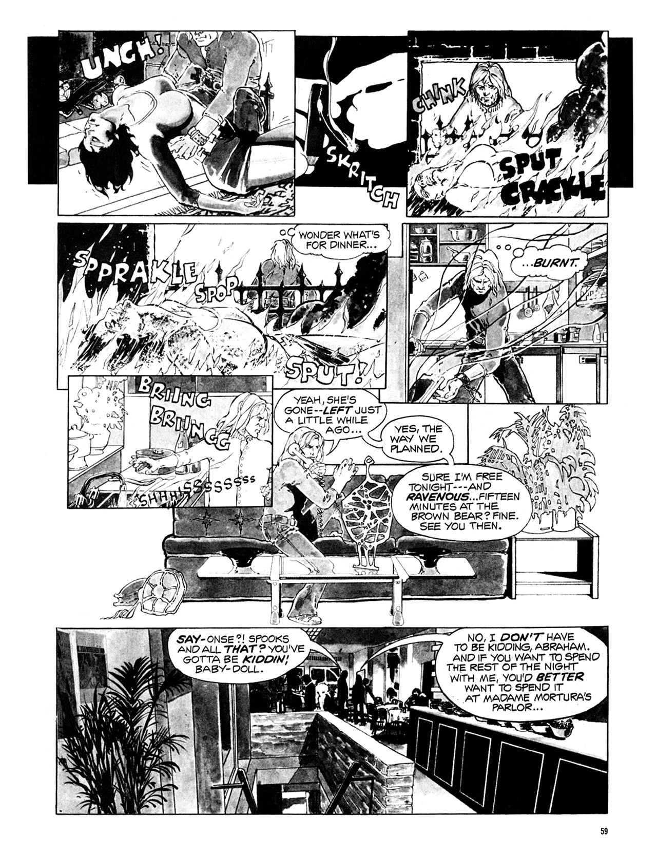 Read online Eerie Archives comic -  Issue # TPB 10 - 60
