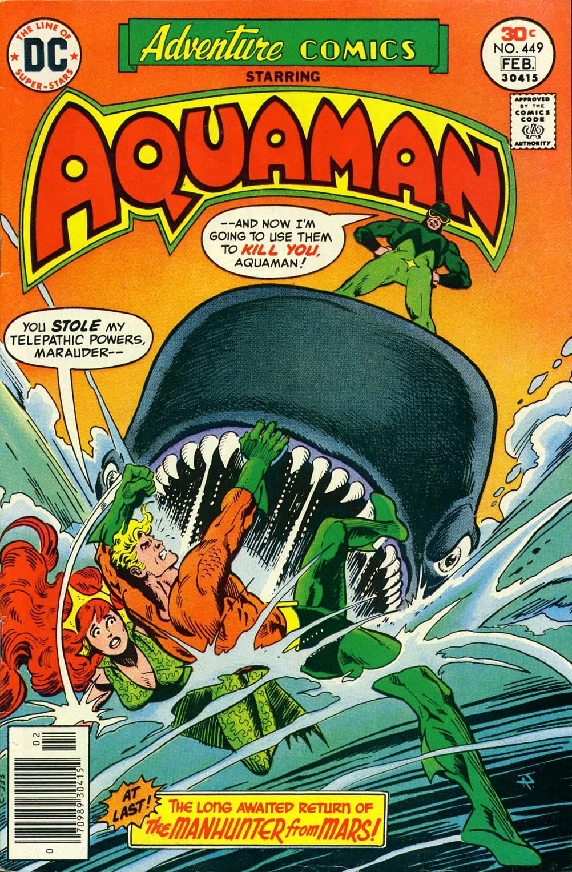 Read online Adventure Comics (1938) comic -  Issue #449 - 1