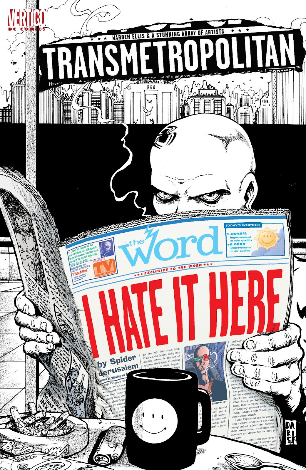 Transmetropolitan issue Issue_I_Hate_It_Here - Page 1