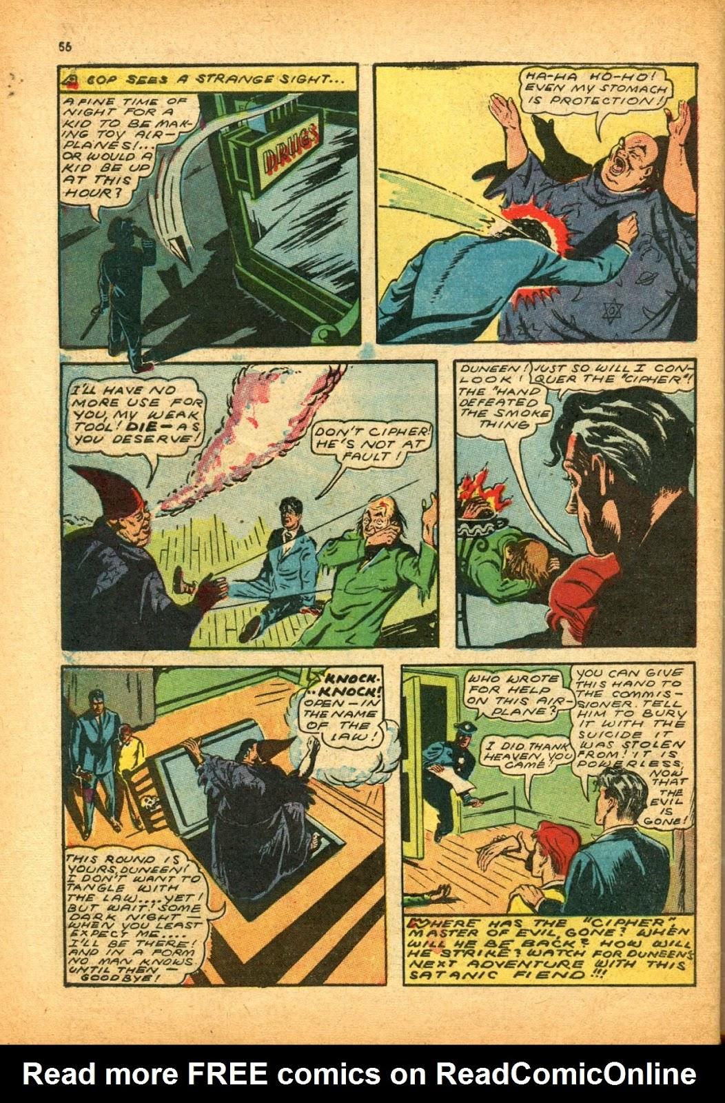 Read online Super-Magician Comics comic -  Issue #12 - 56