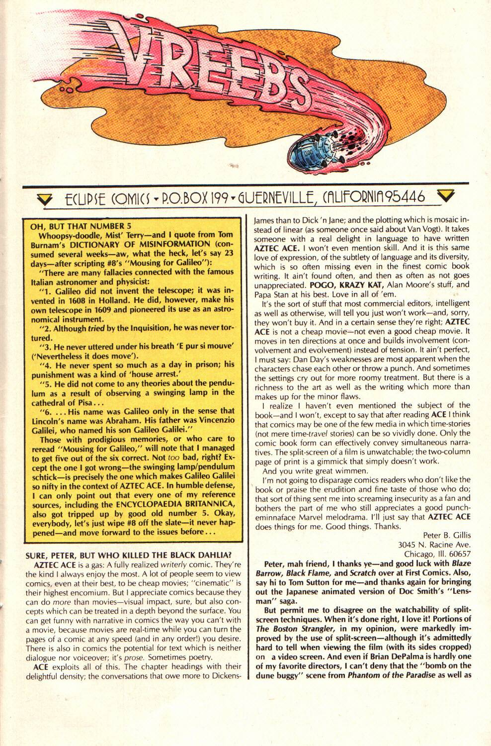 Read online Aztec Ace comic -  Issue #9 - 31