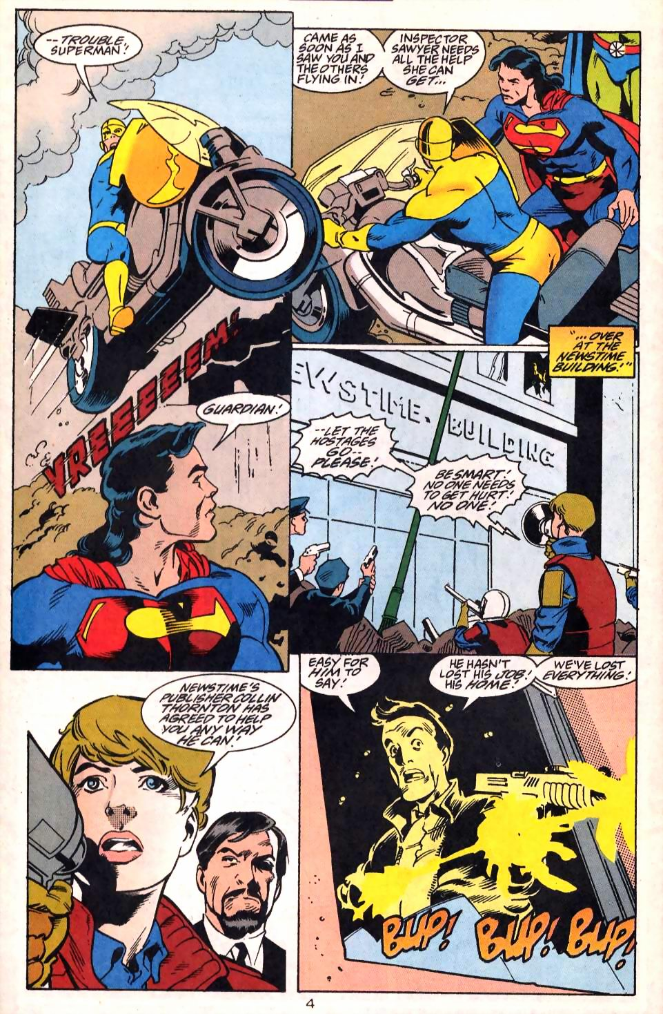 Read online Adventures of Superman (1987) comic -  Issue #522 - 6