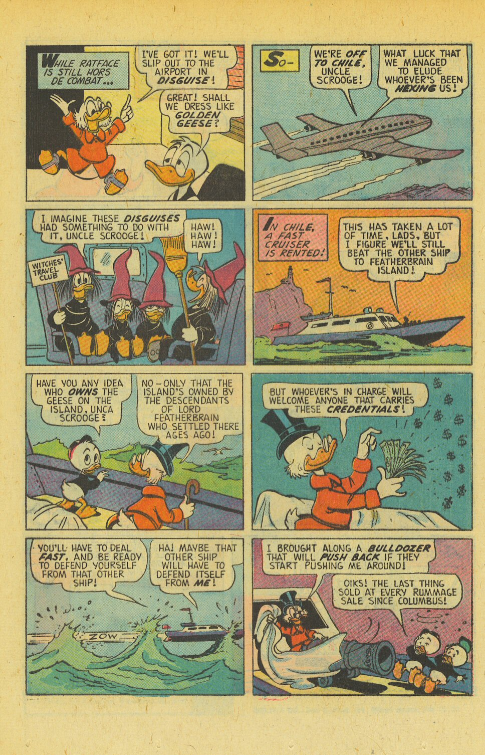 Read online Uncle Scrooge (1953) comic -  Issue #139 - 16