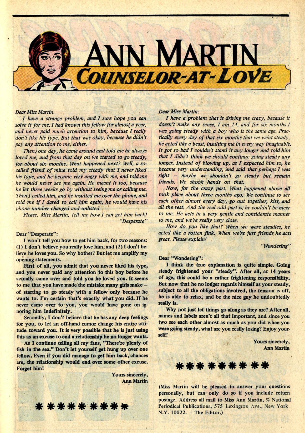 Read online Secret Hearts comic -  Issue #132 - 68