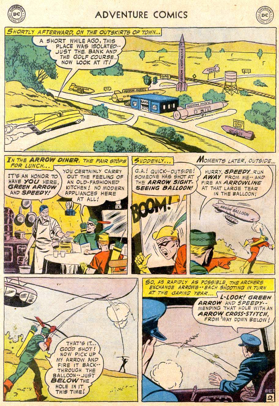 Read online Adventure Comics (1938) comic -  Issue #235 - 28