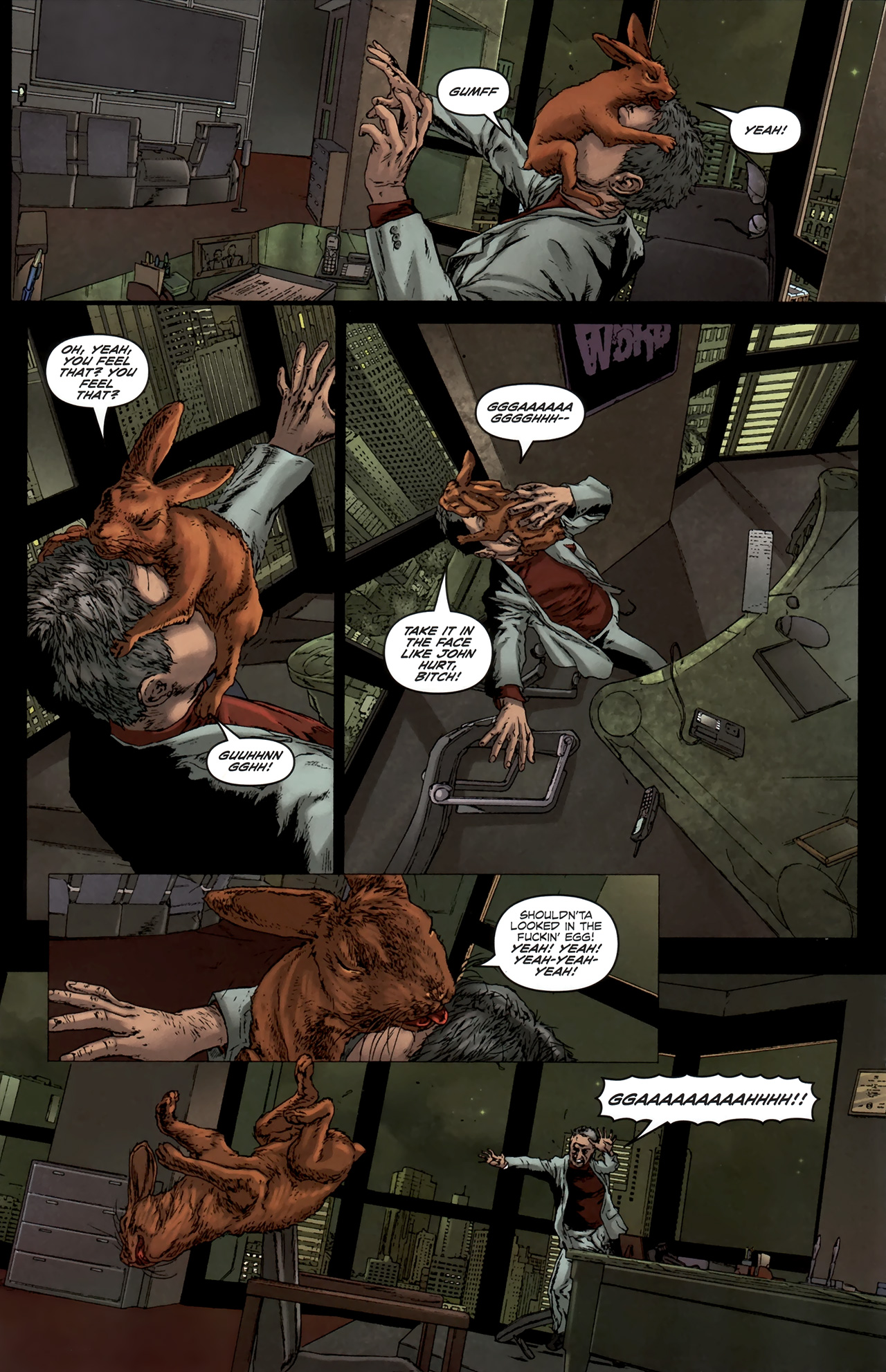 Read online Chronicles of Wormwood: The Last Battle comic -  Issue #6 - 17