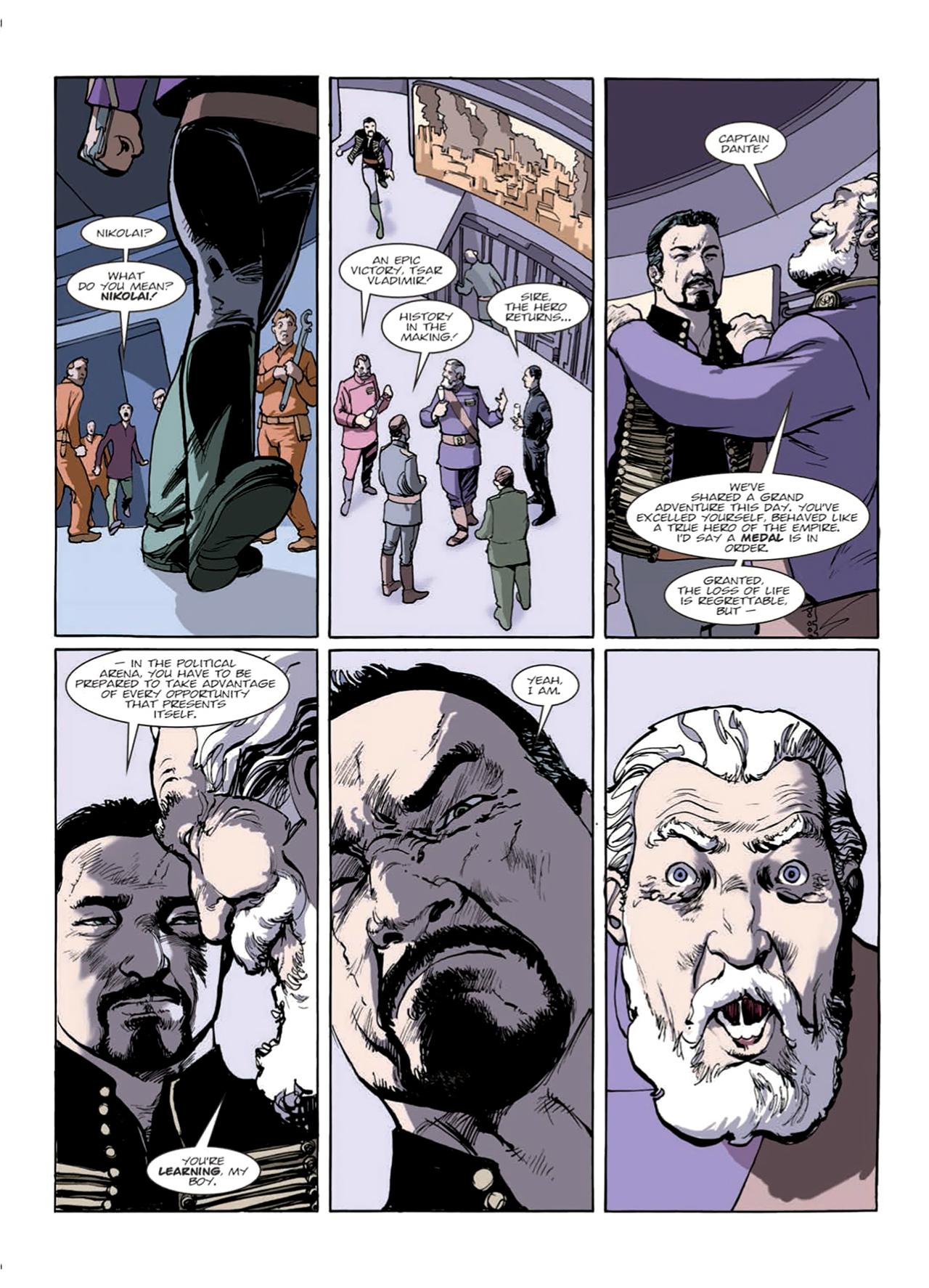 Read online Nikolai Dante comic -  Issue # TPB 9 - 67