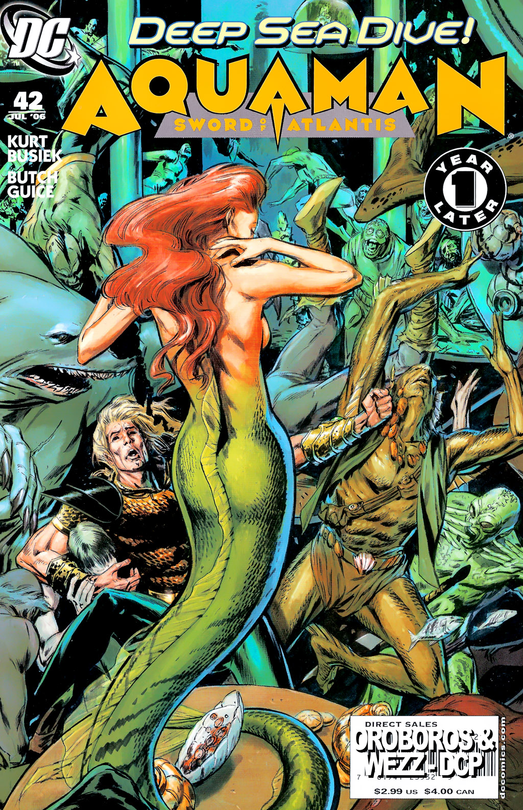 Aquaman: Sword of Atlantis 42 Page 1