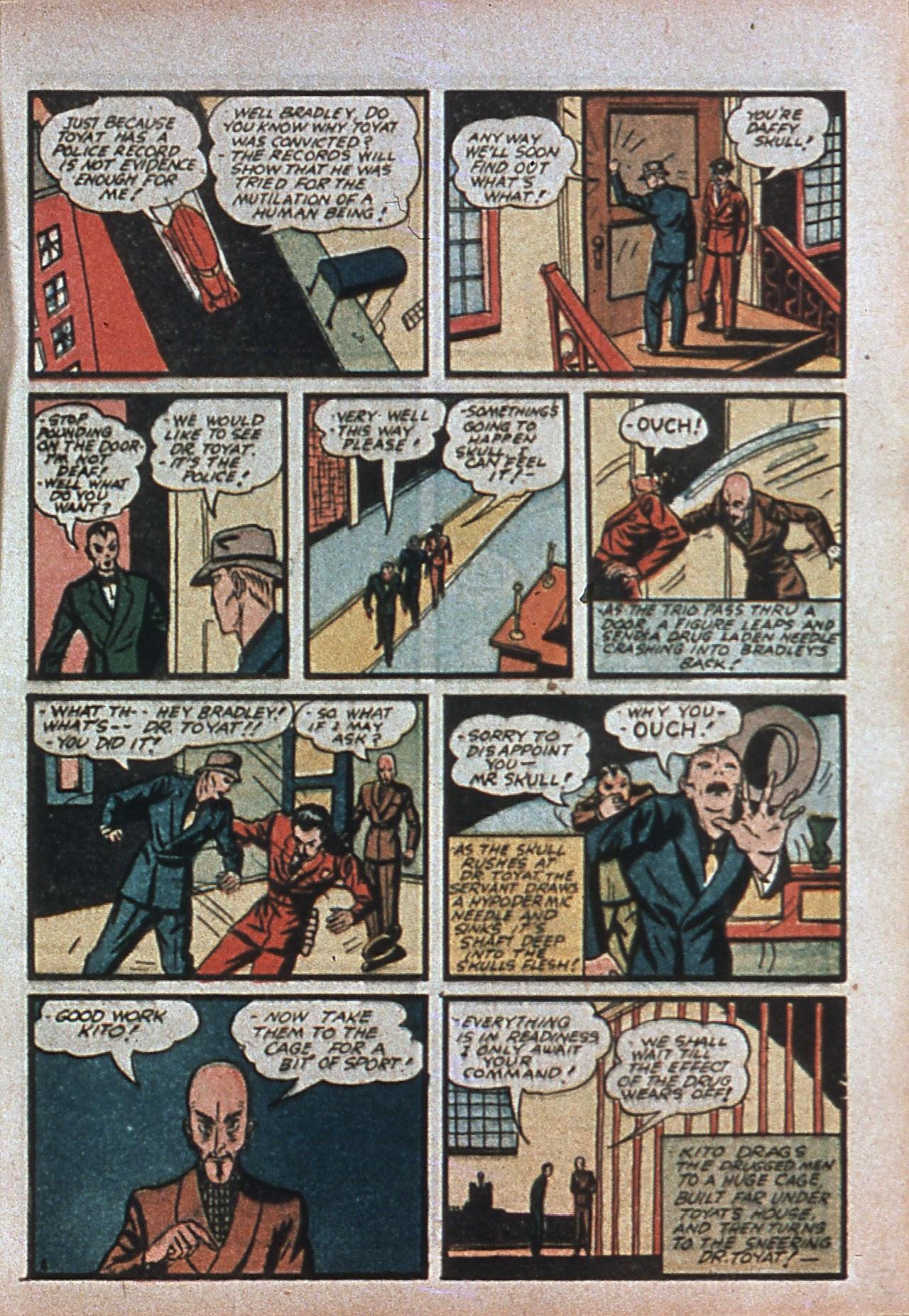 Read online Amazing Man Comics comic -  Issue #7 - 24