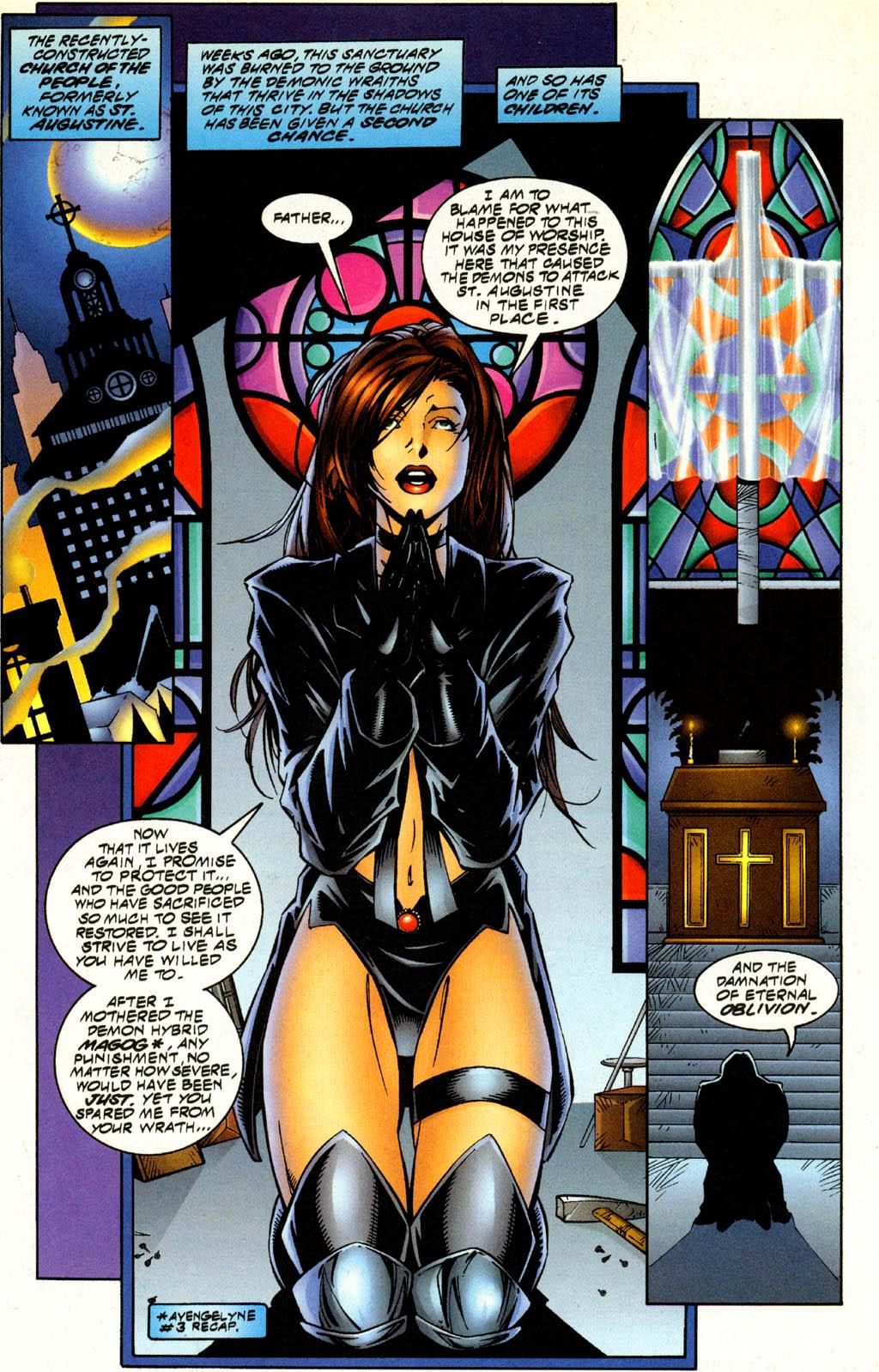 Read online Avengelyne (1996) comic -  Issue #4 - 5