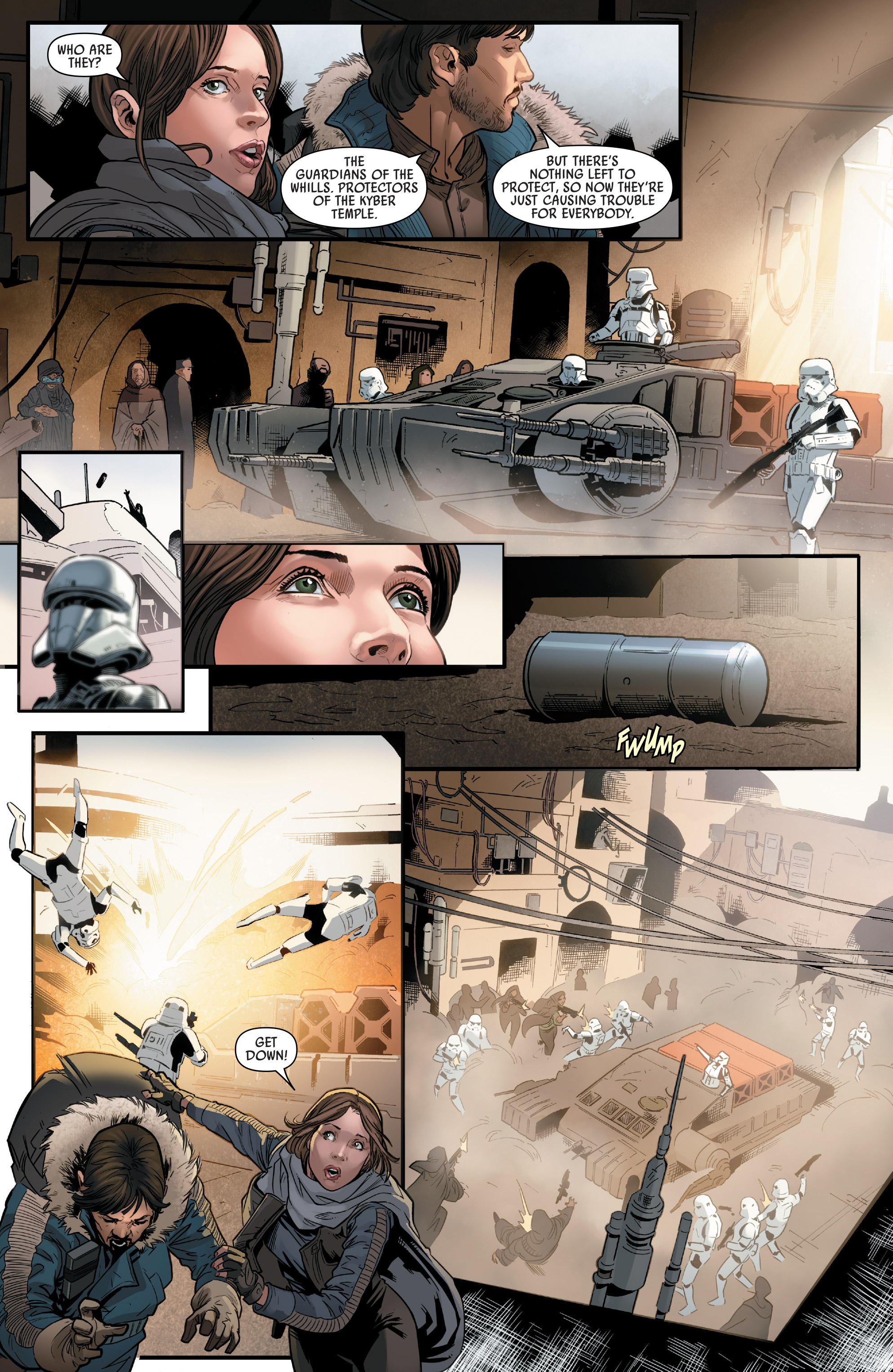 Read online Star Wars: Rogue One Adaptation comic -  Issue #2 - 8