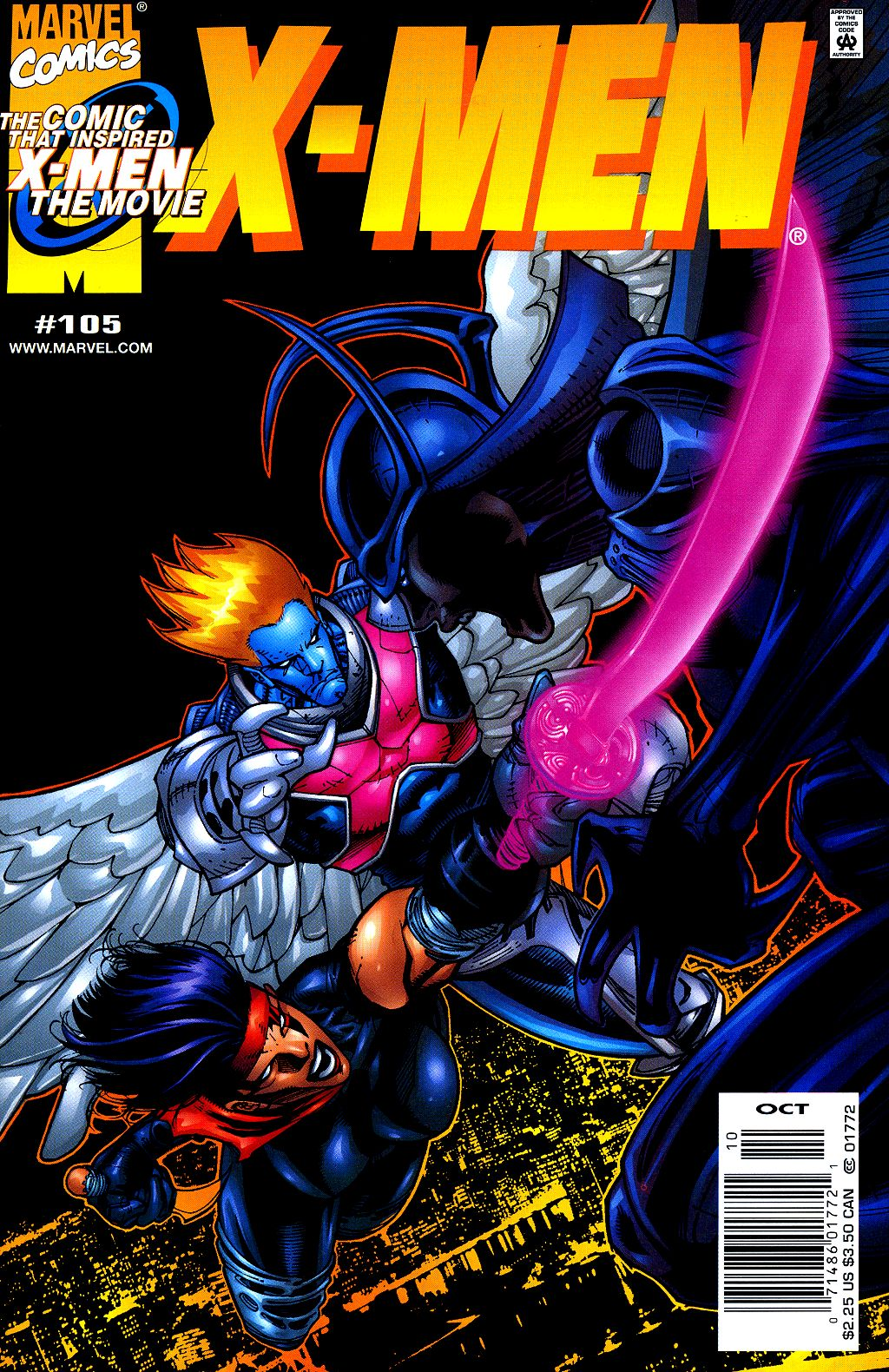 X-Men (1991) 105 Page 0