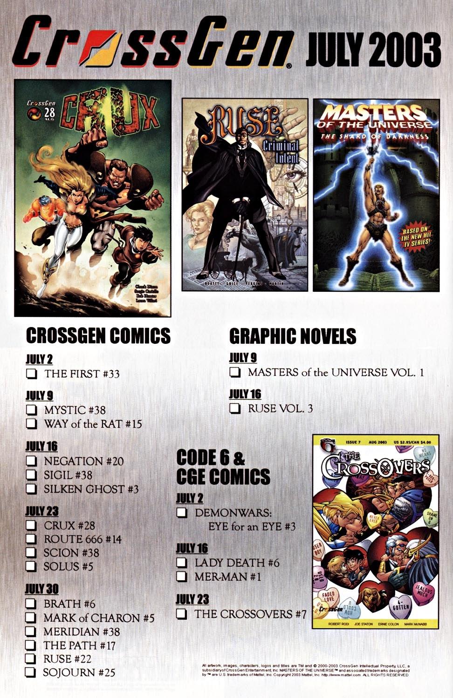 Read online Silken Ghost comic -  Issue #3 - 25