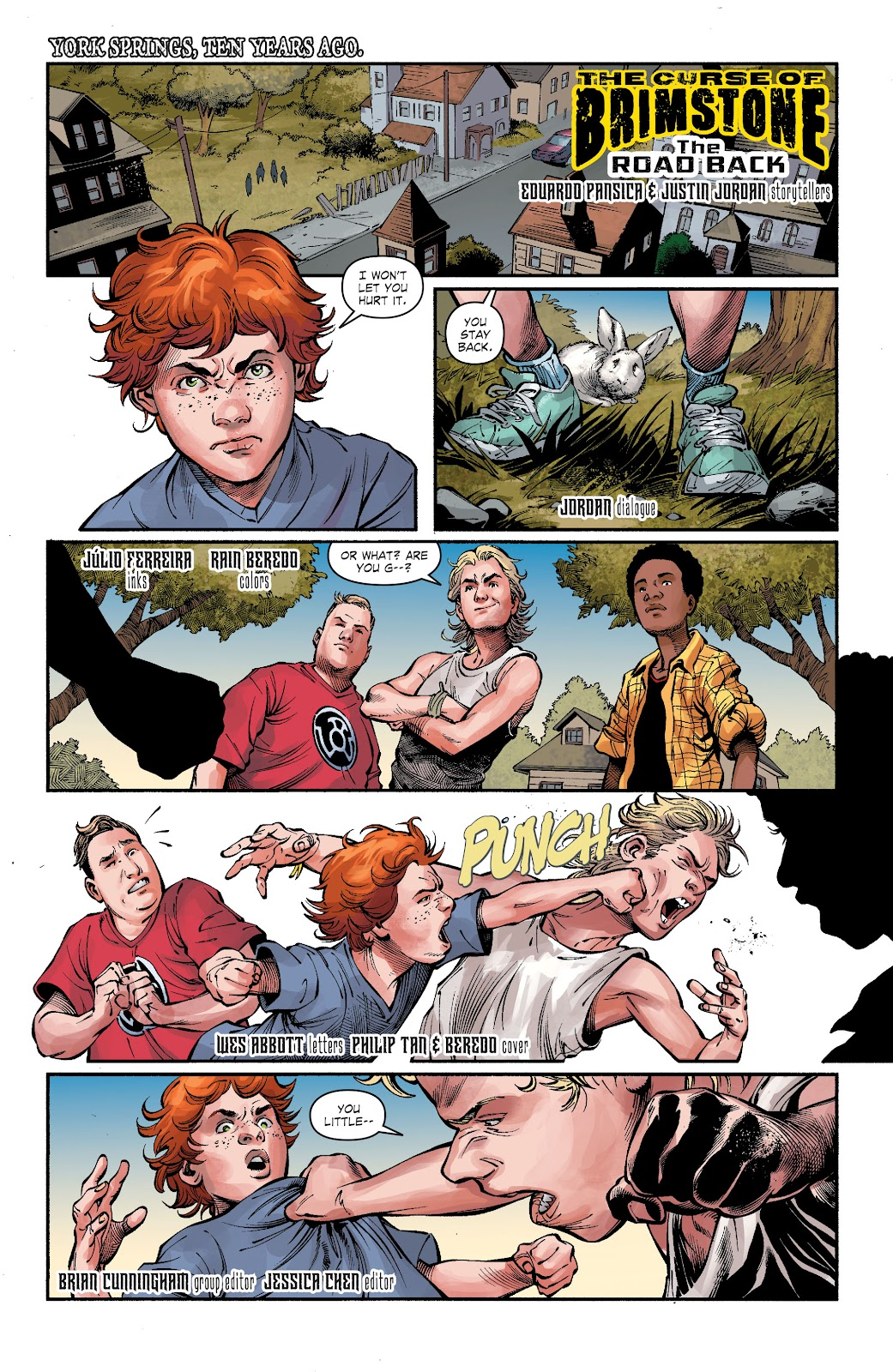 Read online The Curse of Brimstone: Ashes comic -  Issue # TPB (Part 2) - 11