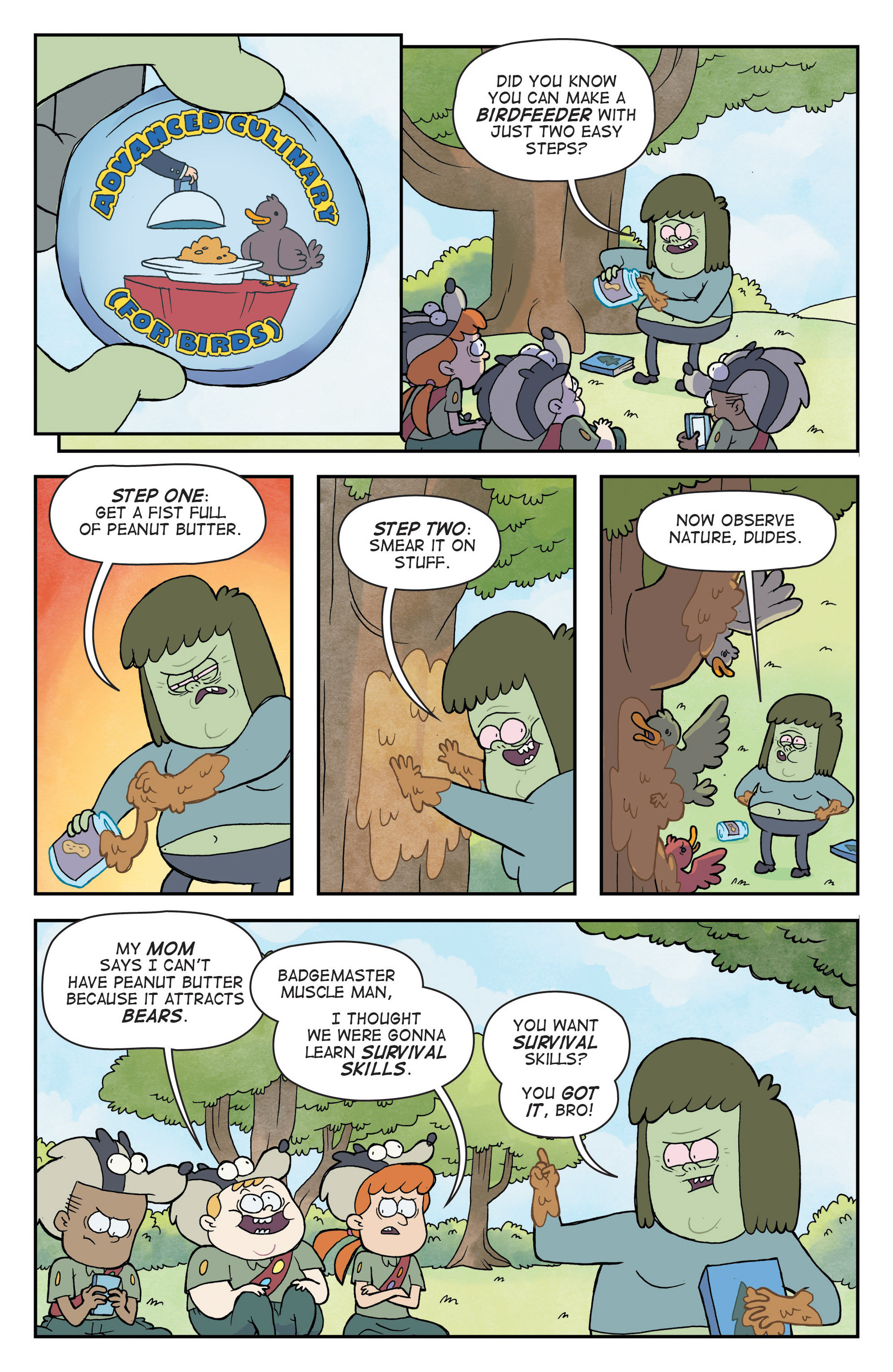Read online Regular Show comic -  Issue # _Annual 1 - 25