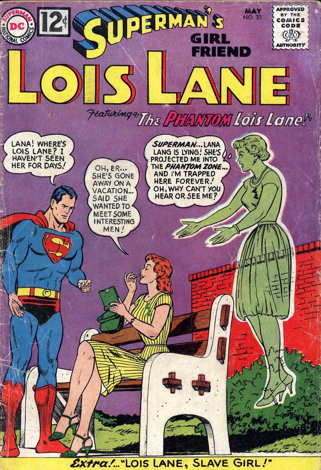 Supermans Girl Friend, Lois Lane 33 Page 1