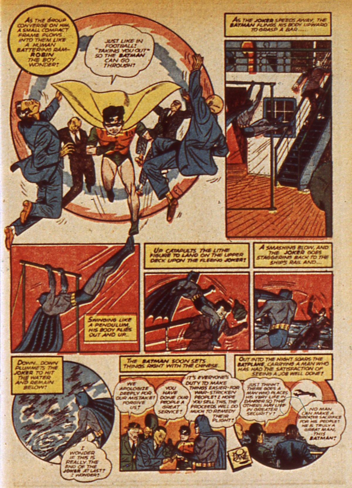 Read online Detective Comics (1937) comic -  Issue #45 - 15