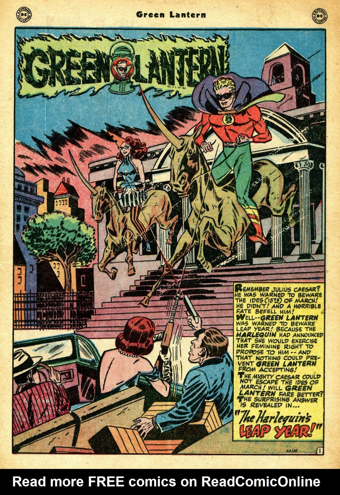 Green Lantern (1941) Issue #33 #33 - English 36