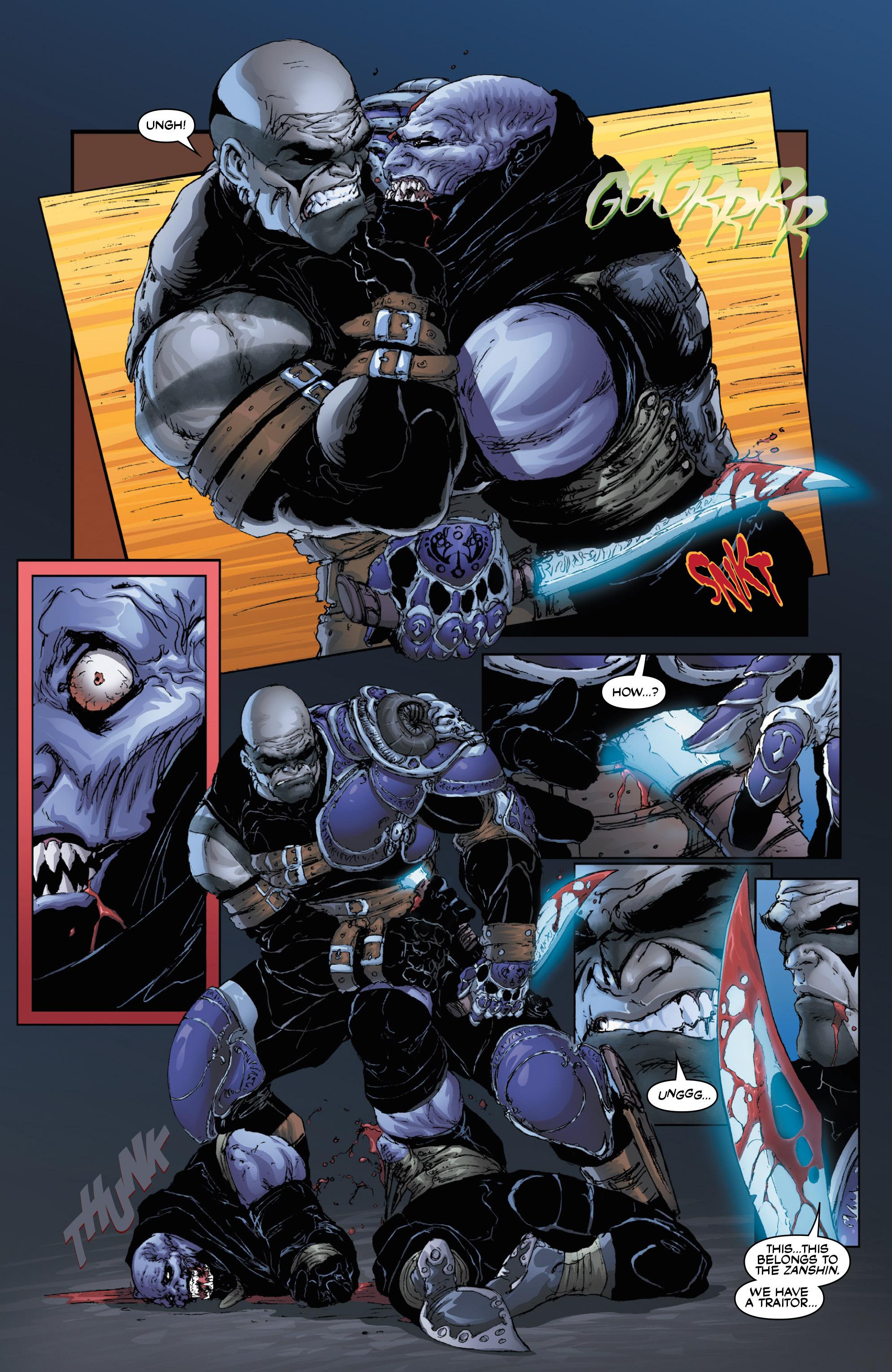 Read online Wraithborn Redux comic -  Issue #1 - 22