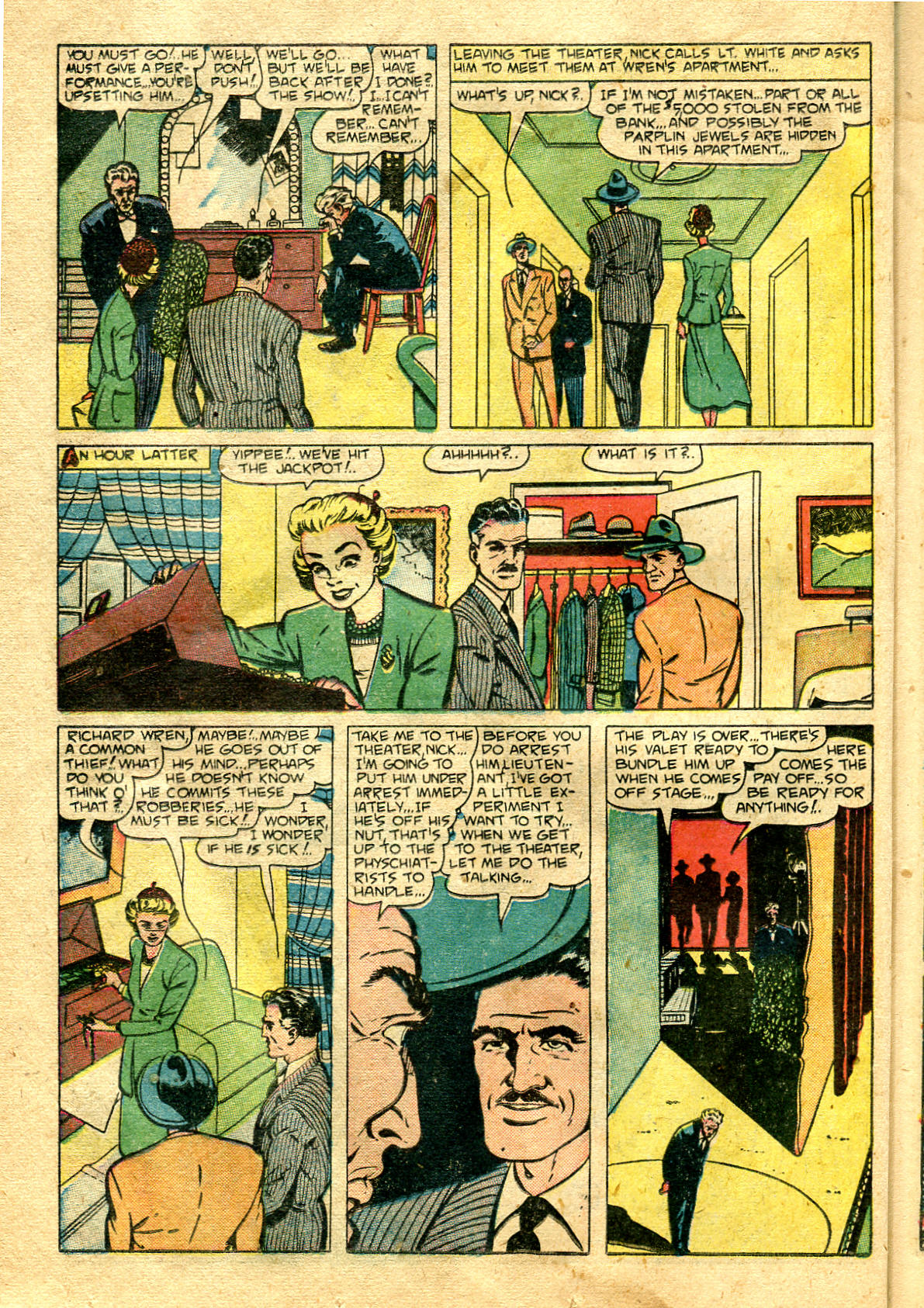Read online Shadow Comics comic -  Issue #99 - 36