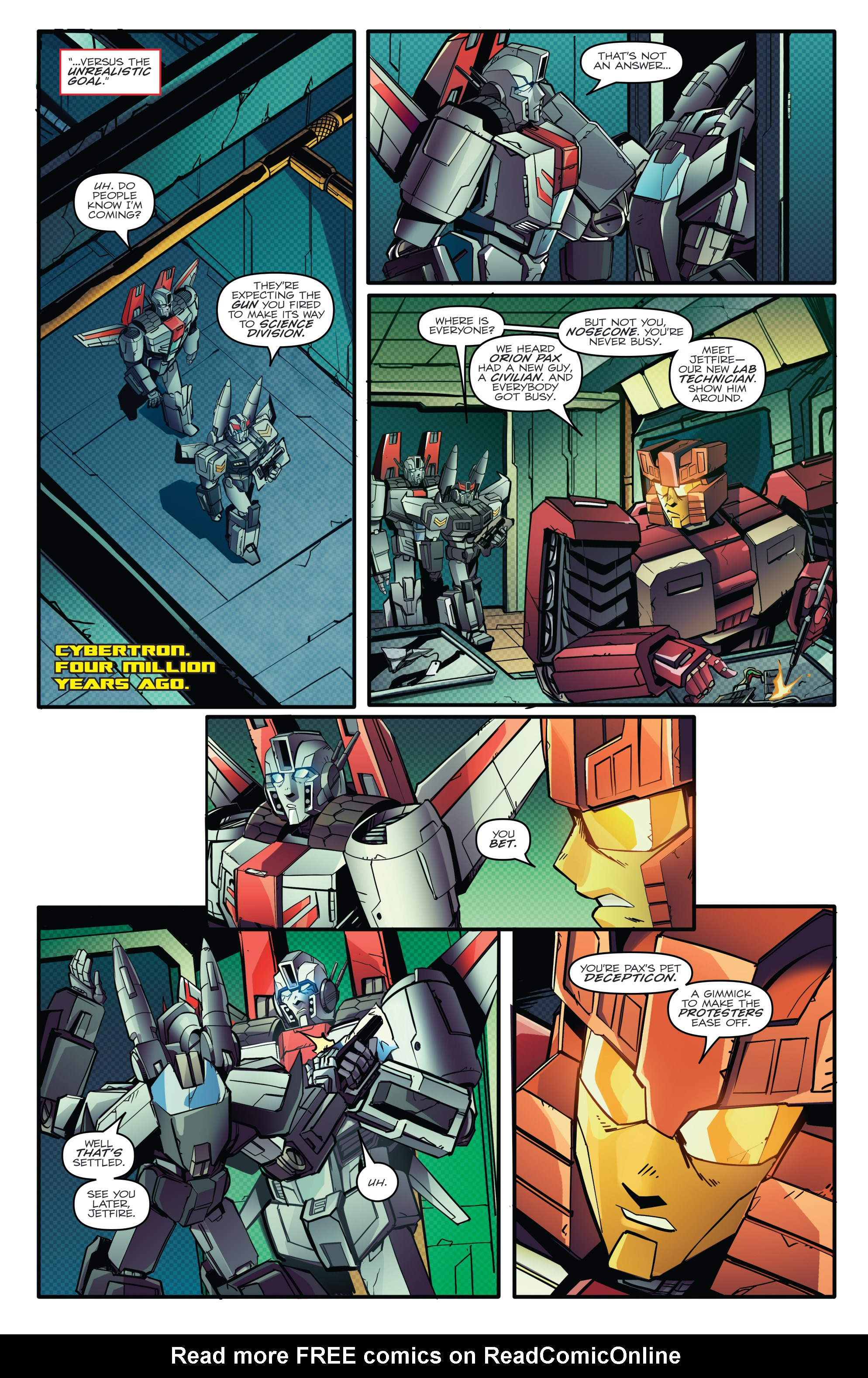 Read online Optimus Prime comic -  Issue #7 - 9
