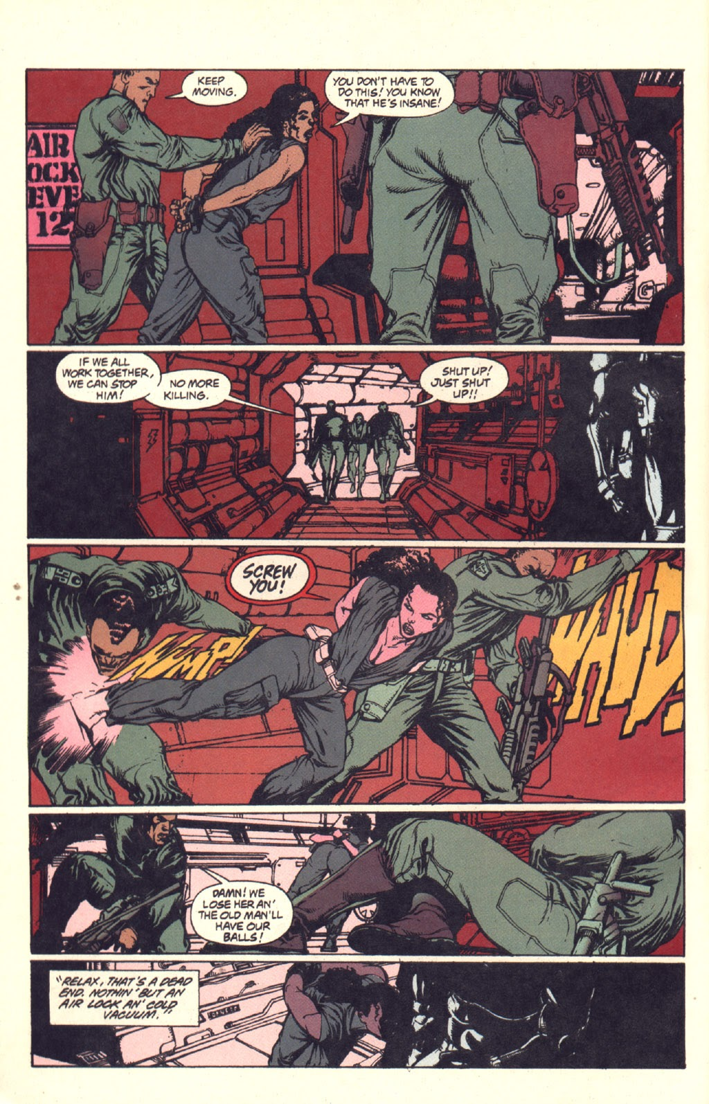 Read online Aliens: Rogue comic -  Issue #3 - 10
