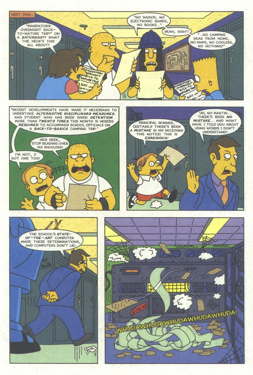 Read online Simpsons Comics comic -  Issue #21 - 6