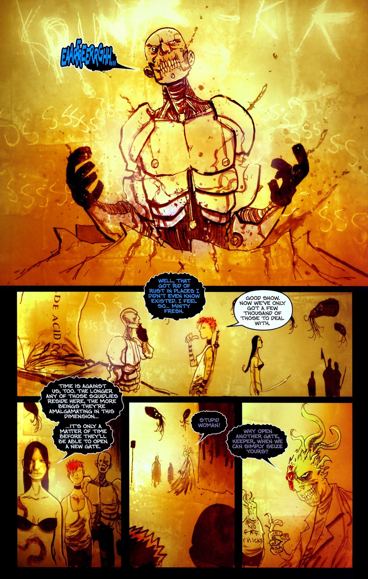 Read online Wormwood: Gentleman Corpse comic -  Issue #11 - 14