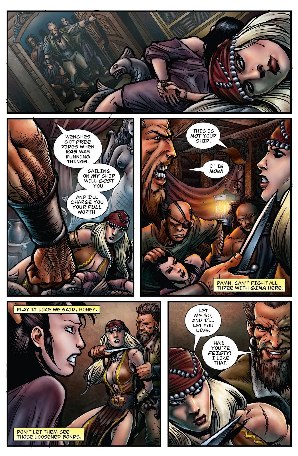 Arhian Head Huntress Issue 3 | Read Arhian Head Huntress