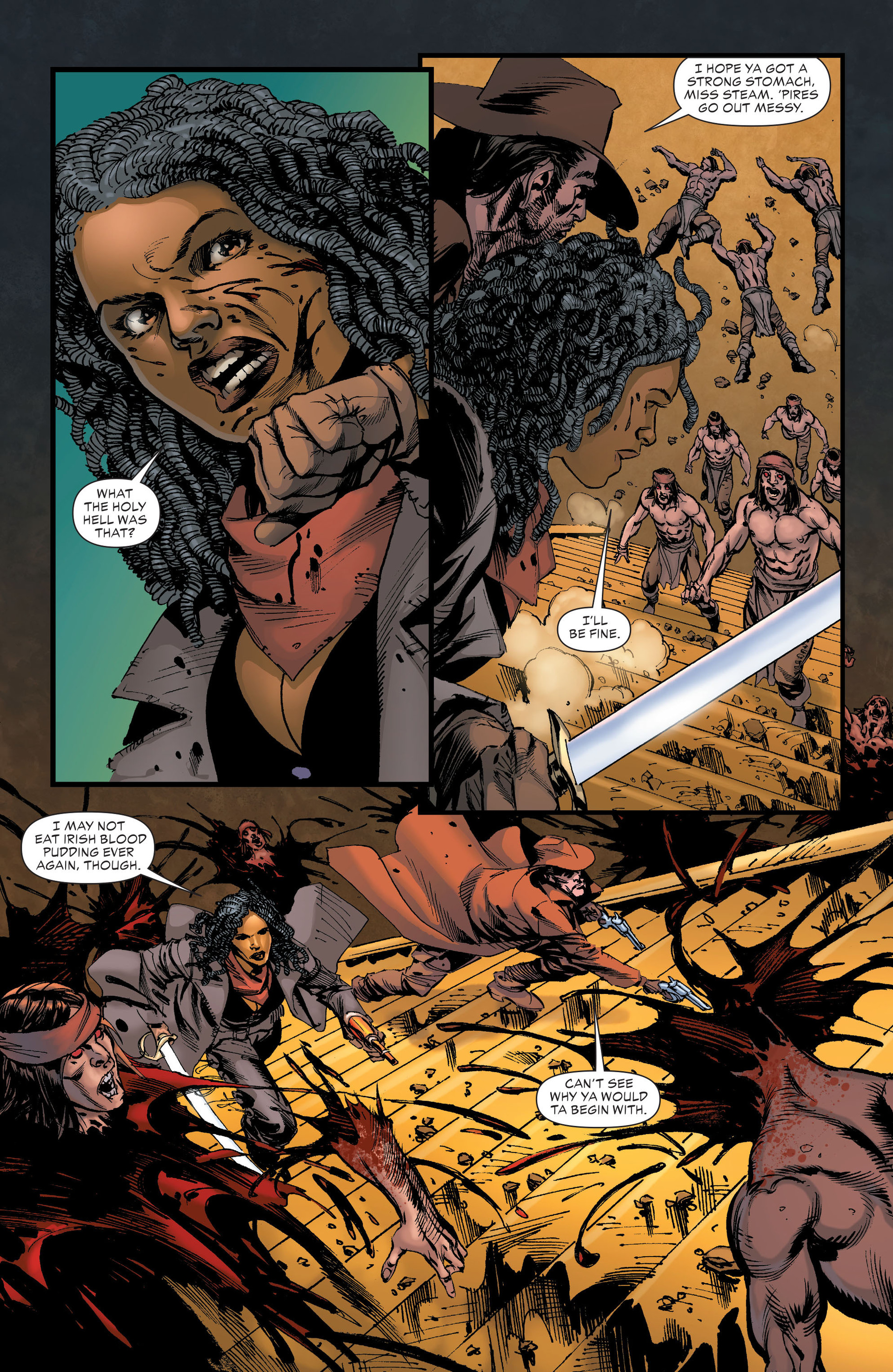 Read online All-Star Western (2011) comic -  Issue #21 - 24