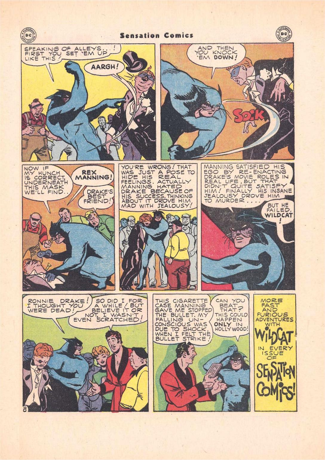 Read online Sensation (Mystery) Comics comic -  Issue #55 - 49