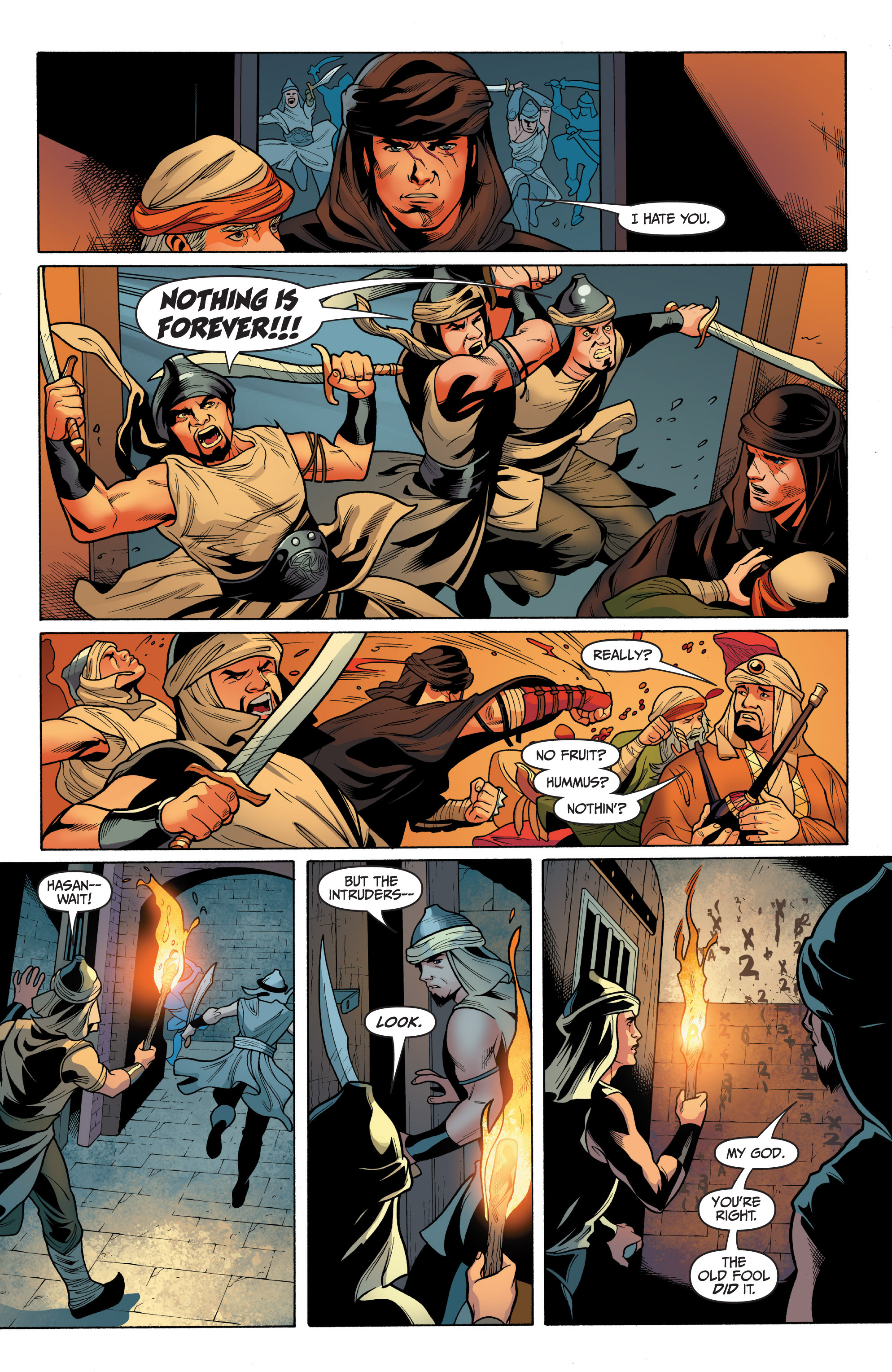 Read online Archer and Armstrong comic -  Issue #8 - 7