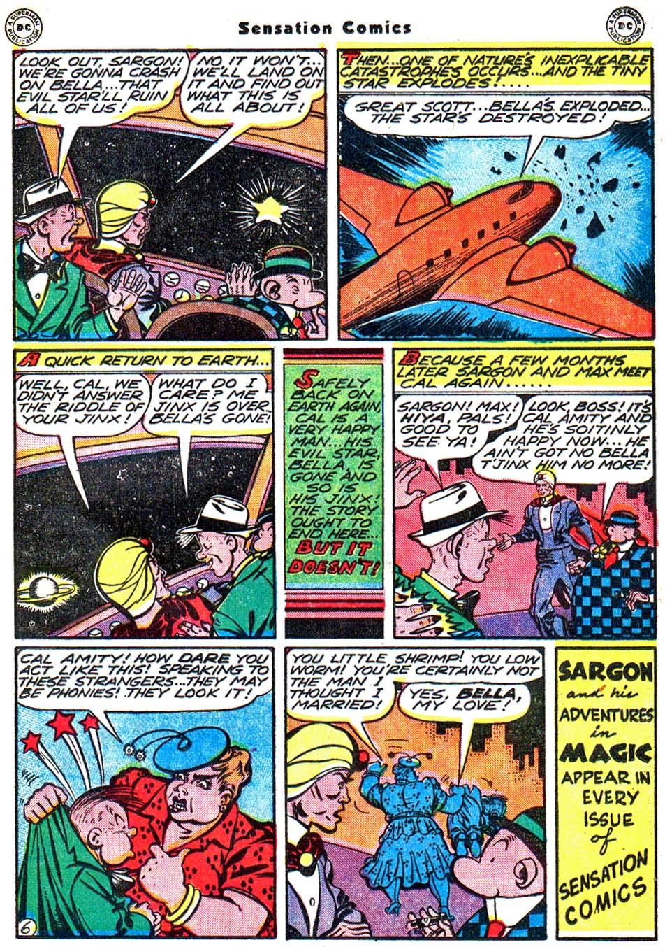 Read online Sensation (Mystery) Comics comic -  Issue #54 - 30