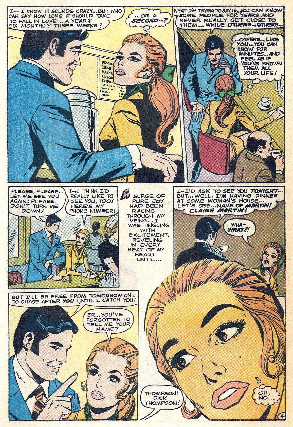 Read online Secret Hearts comic -  Issue #140 - 19