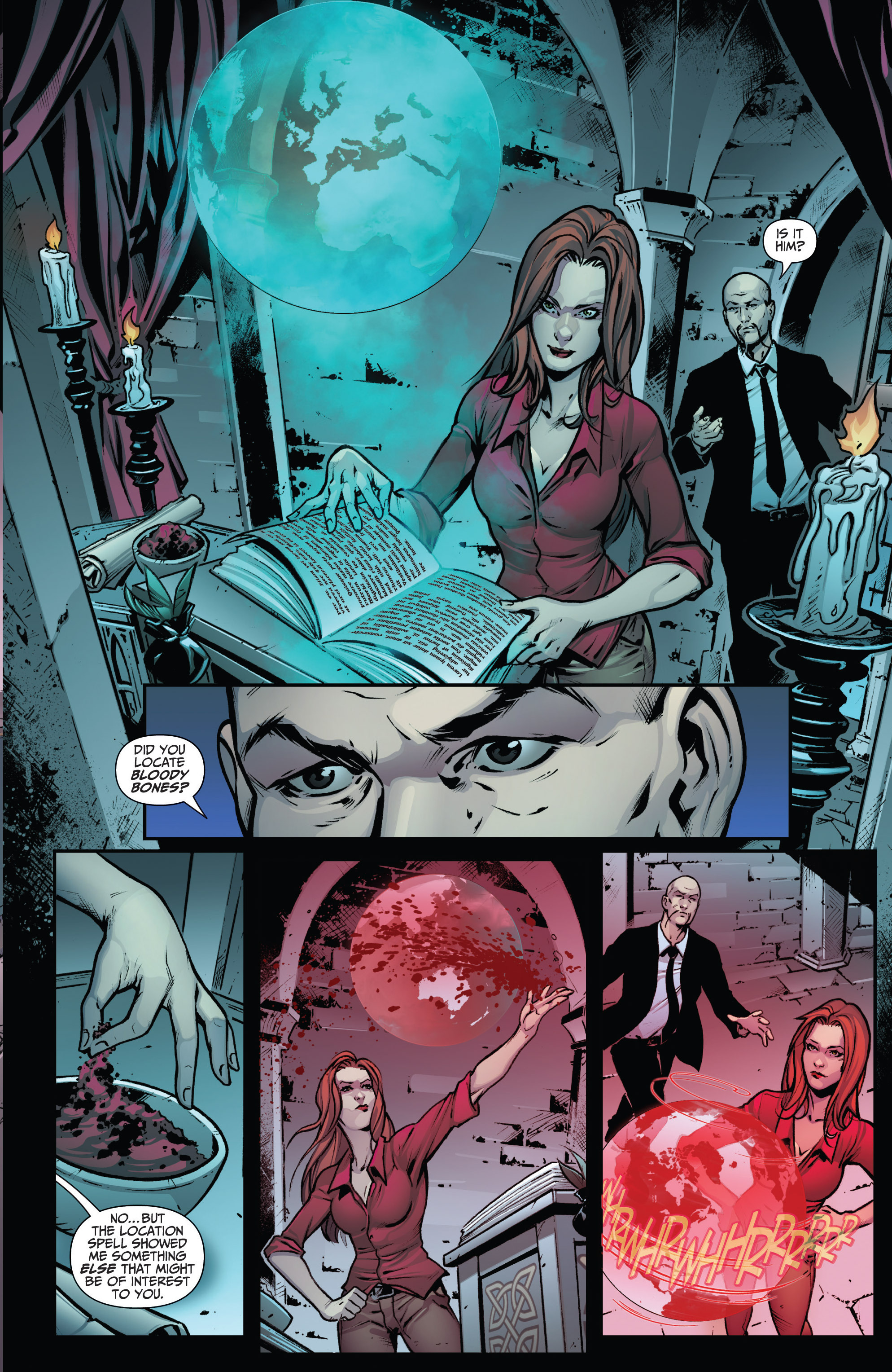 Read online Grimm Fairy Tales: Arcane Acre comic -  Issue # TPB 3 - 13
