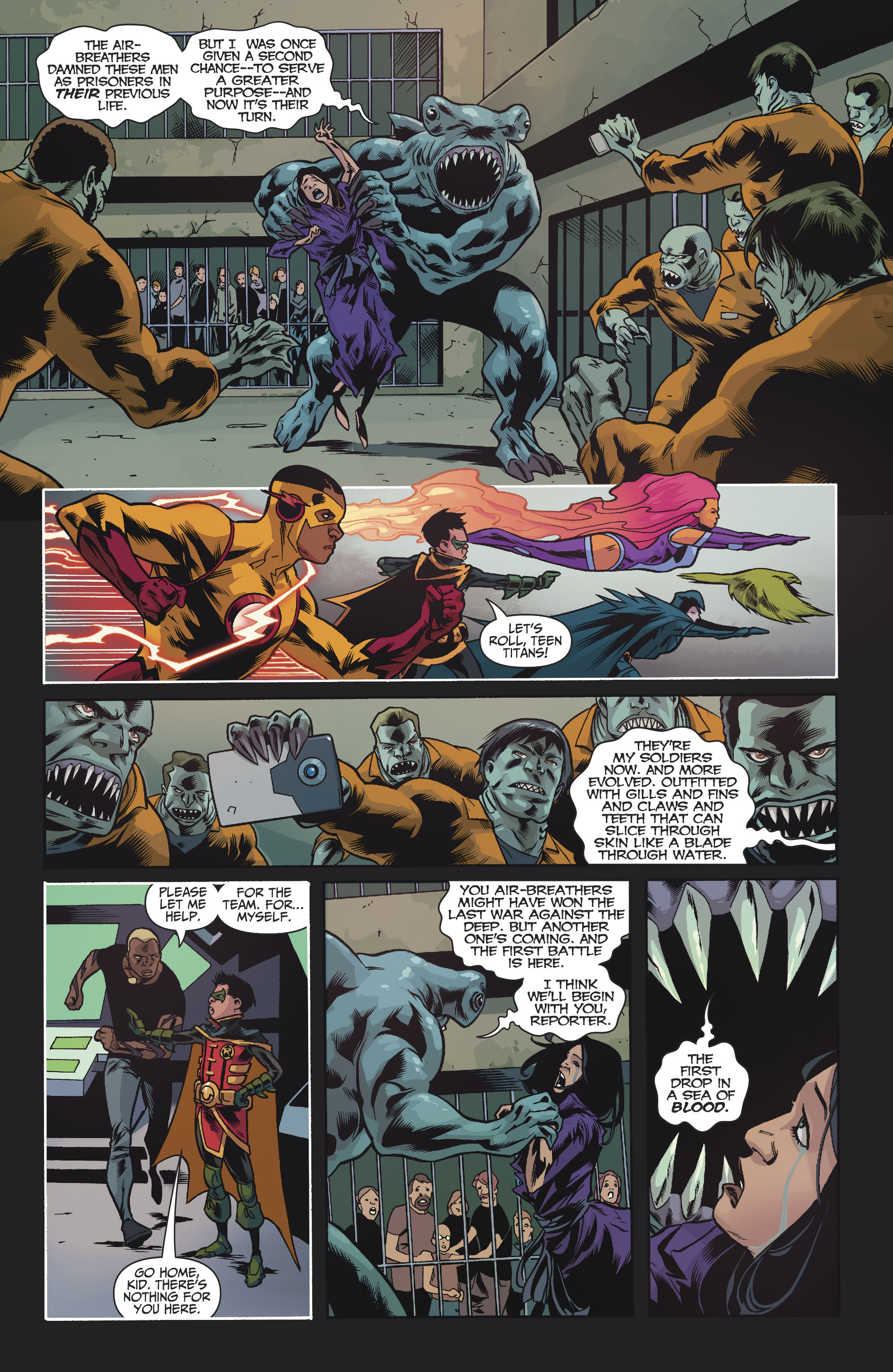 Read online Teen Titans (2016) comic -  Issue #7 - 11