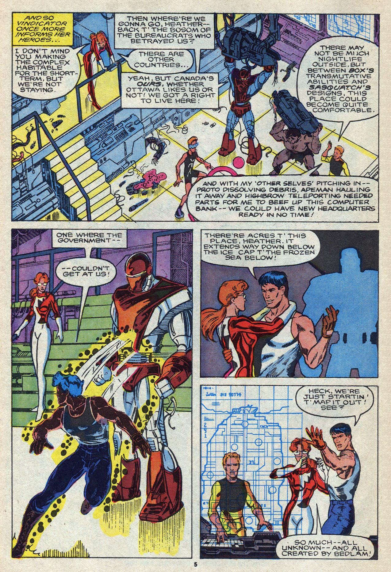 Read online Alpha Flight (1983) comic -  Issue #55 - 8