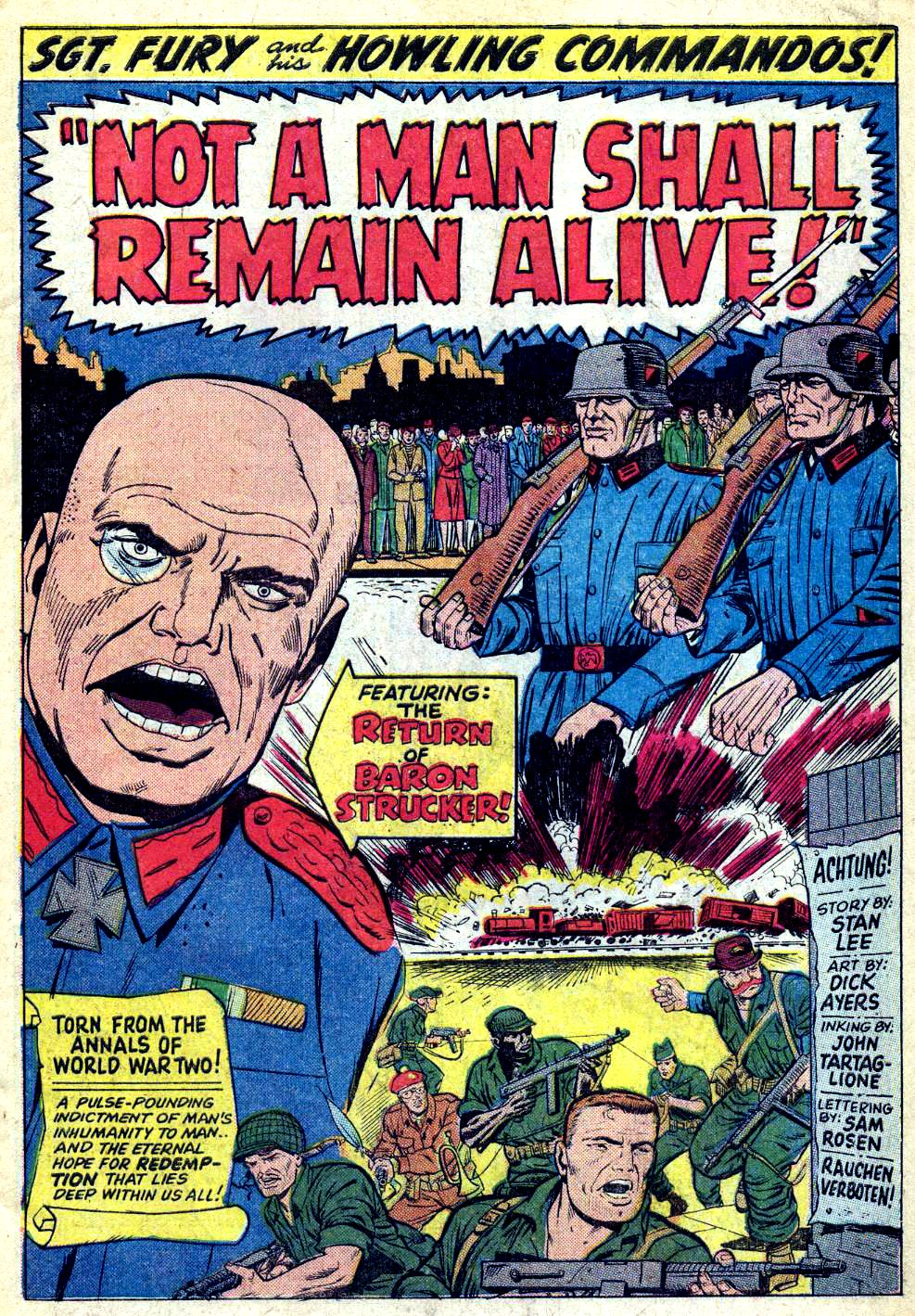 Read online Sgt. Fury comic -  Issue #28 - 3